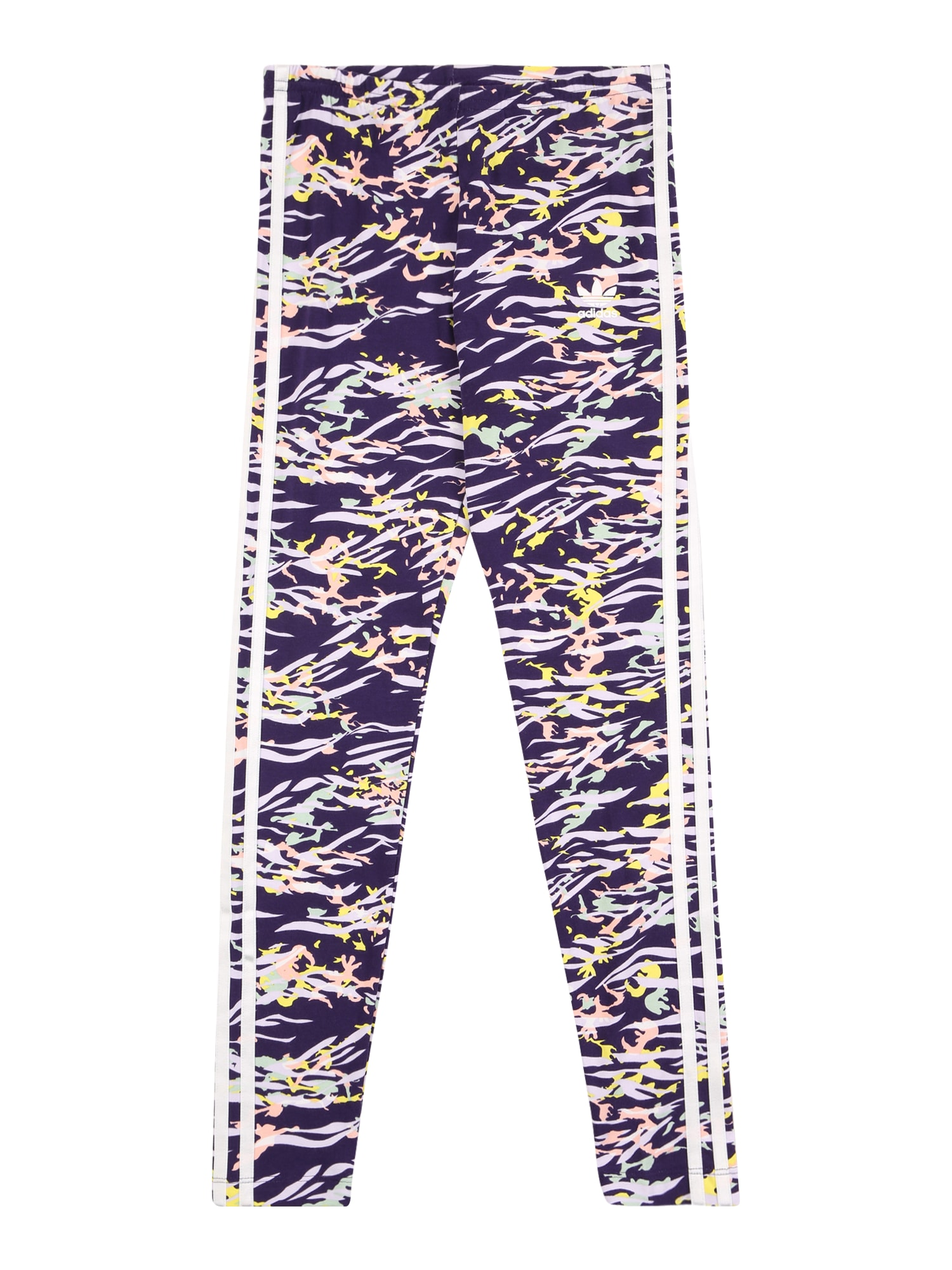 ADIDAS ORIGINALS Legíny  tmavě fialová / mix barev