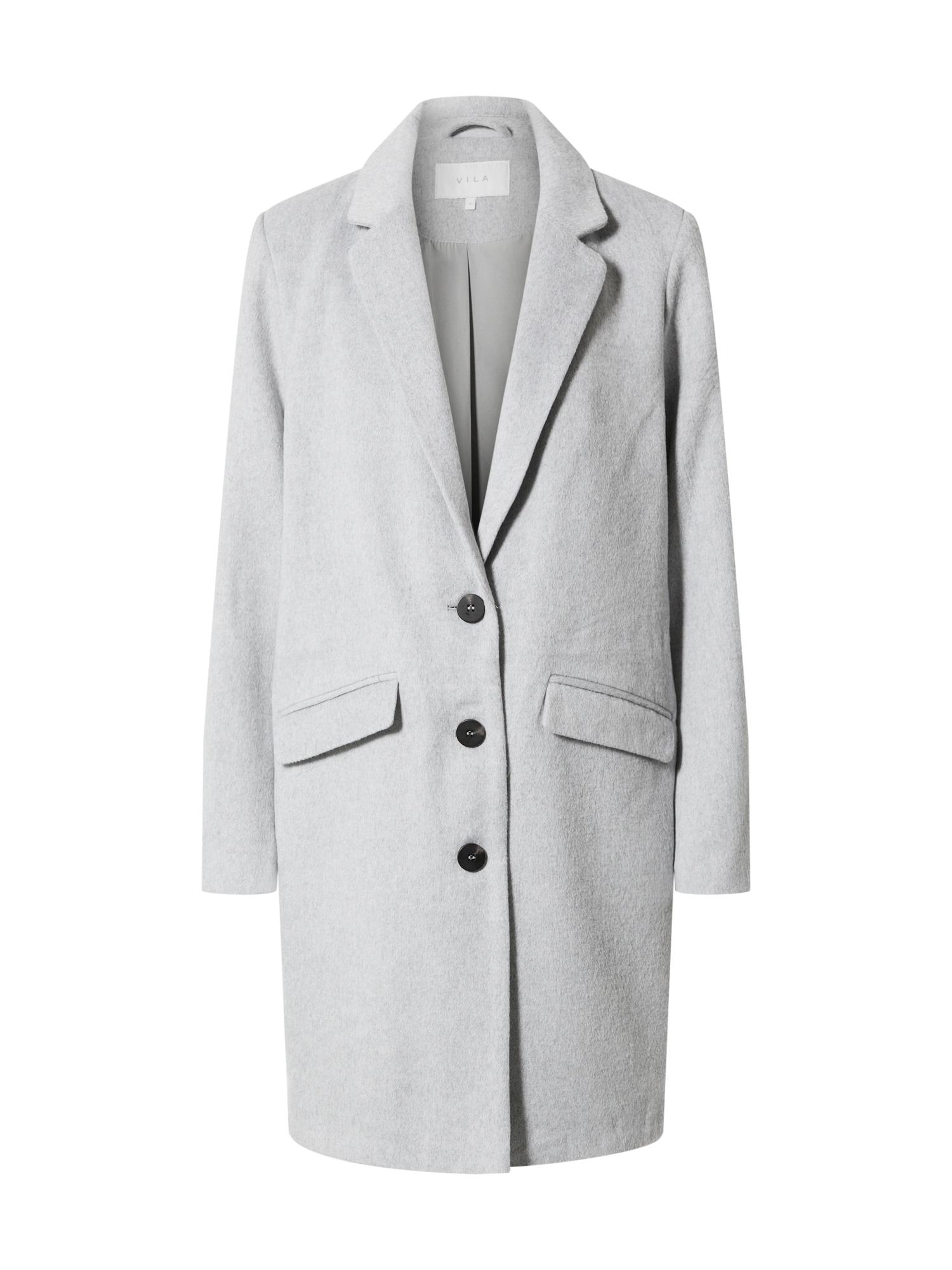 VILA Demisezoninis paltas šviesiai pilka