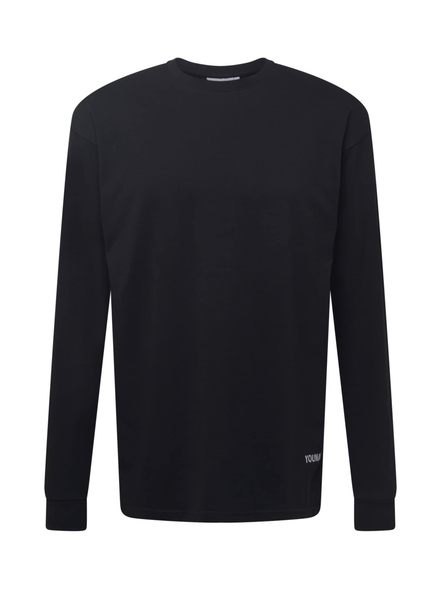 Youman Marškinėliai juoda / balta