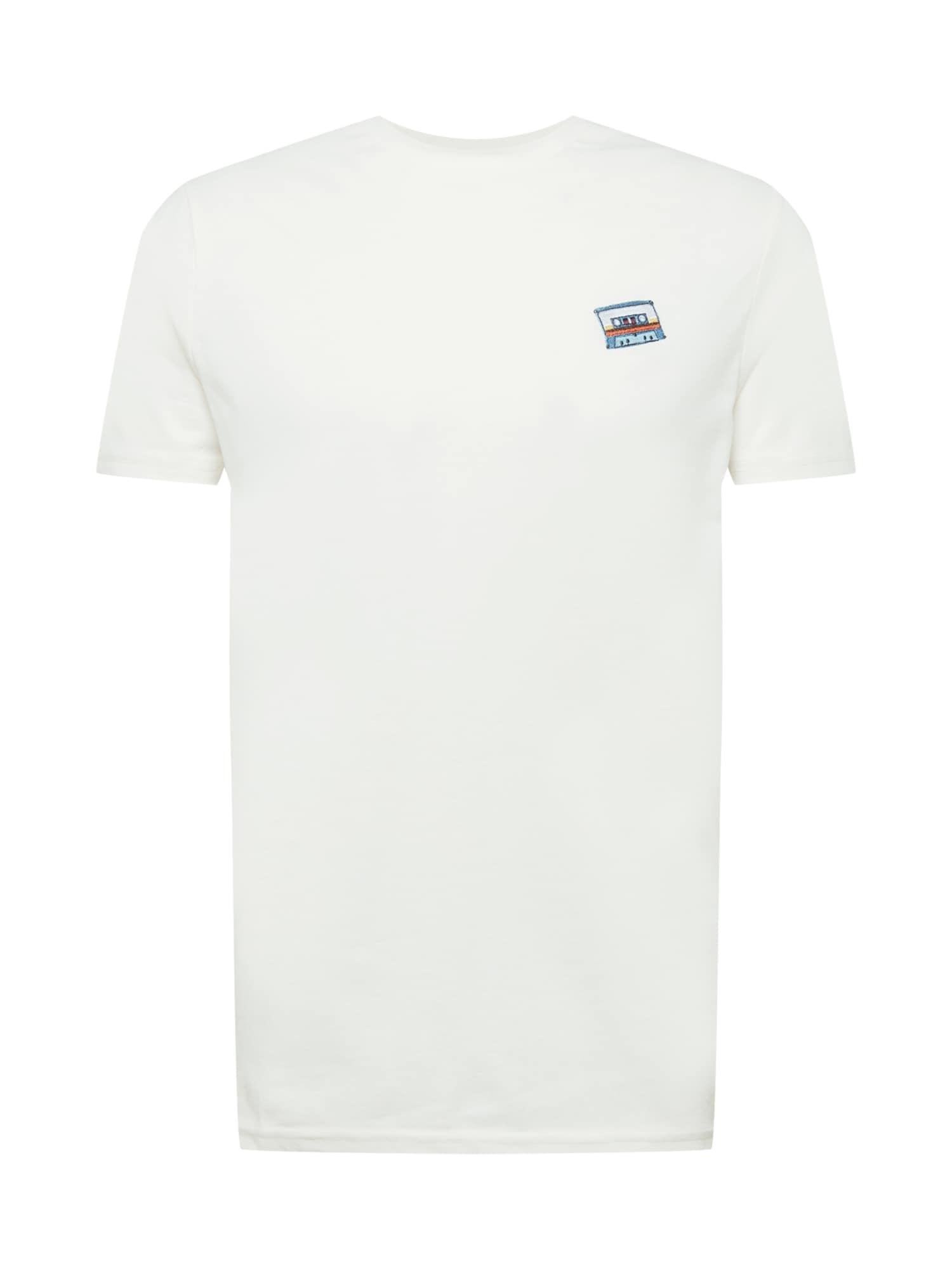 Kronstadt Marškinėliai natūrali balta
