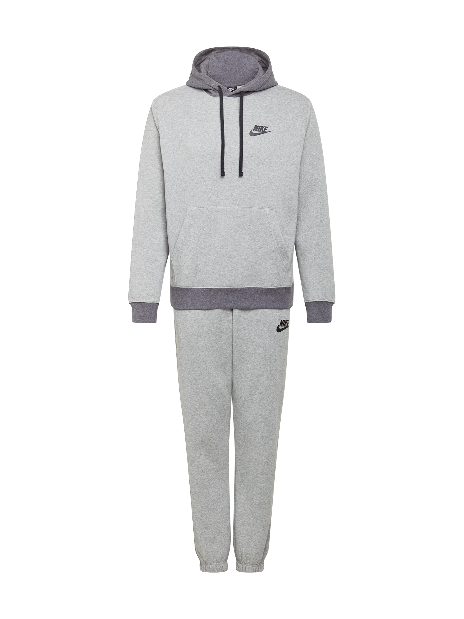 Nike Sportswear Treningas tamsiai pilka / pilka