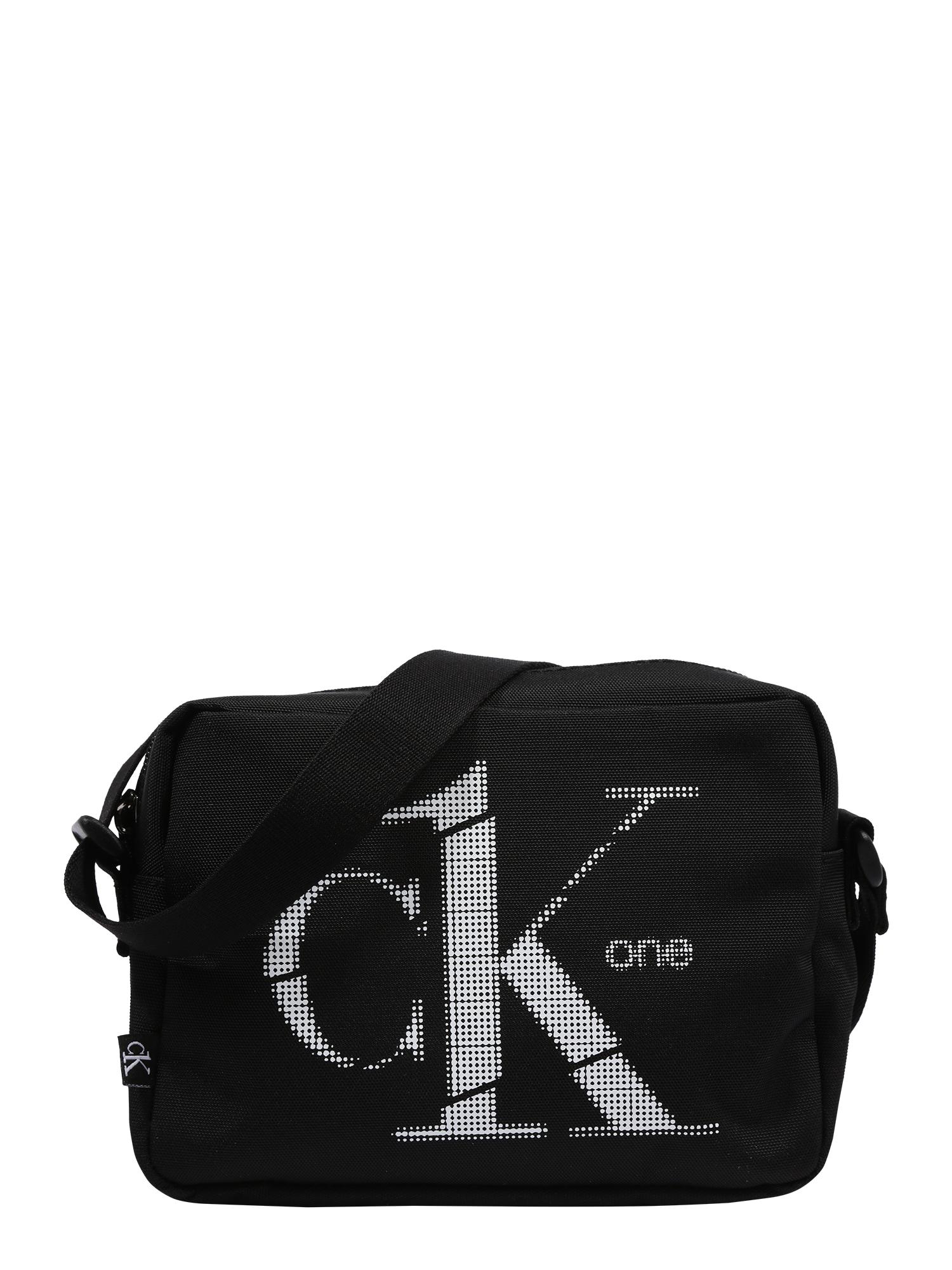 Calvin Klein Fotoaparato dėklas juoda / balta