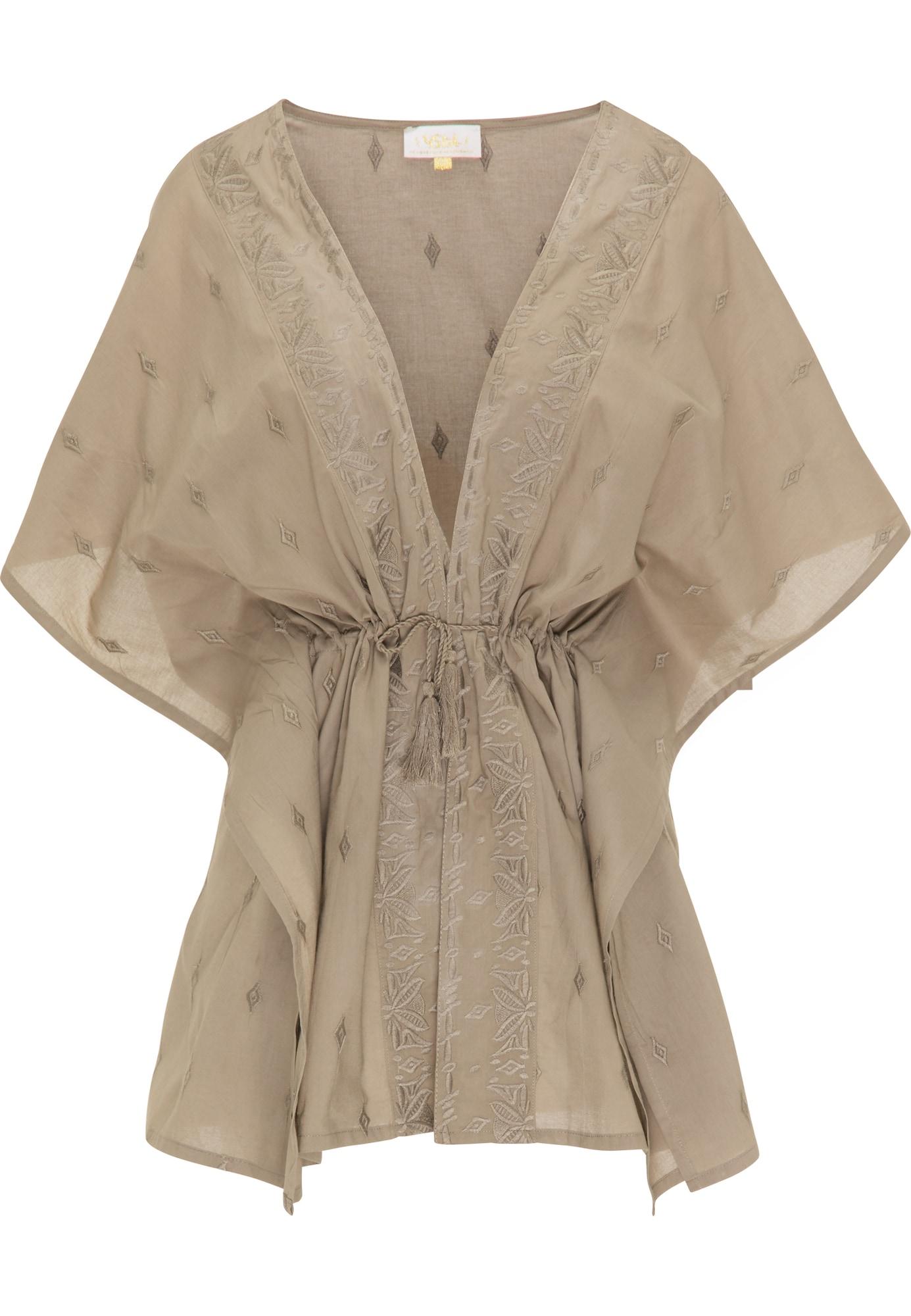 usha FESTIVAL Kimono nebalintos drobės spalva