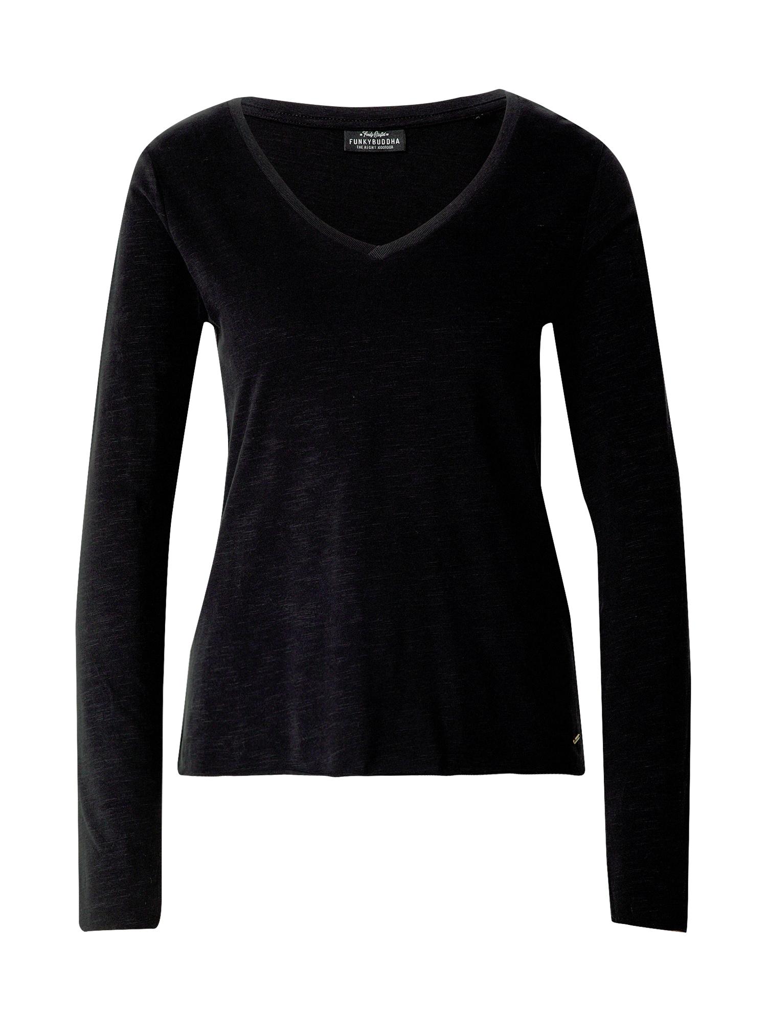 Funky Buddha Marškinėliai juoda