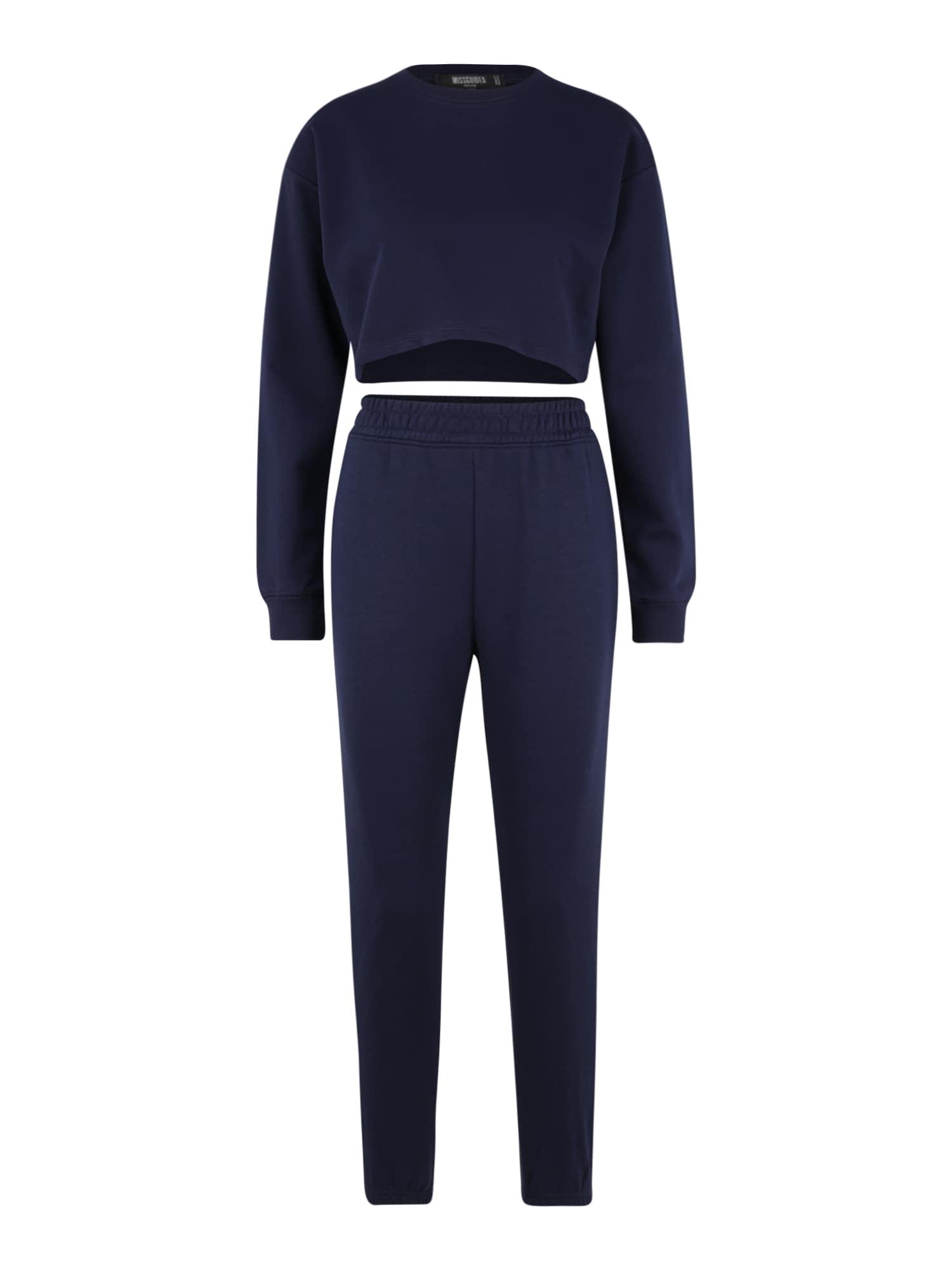 Missguided (Petite) Naminis kostiumas tamsiai mėlyna