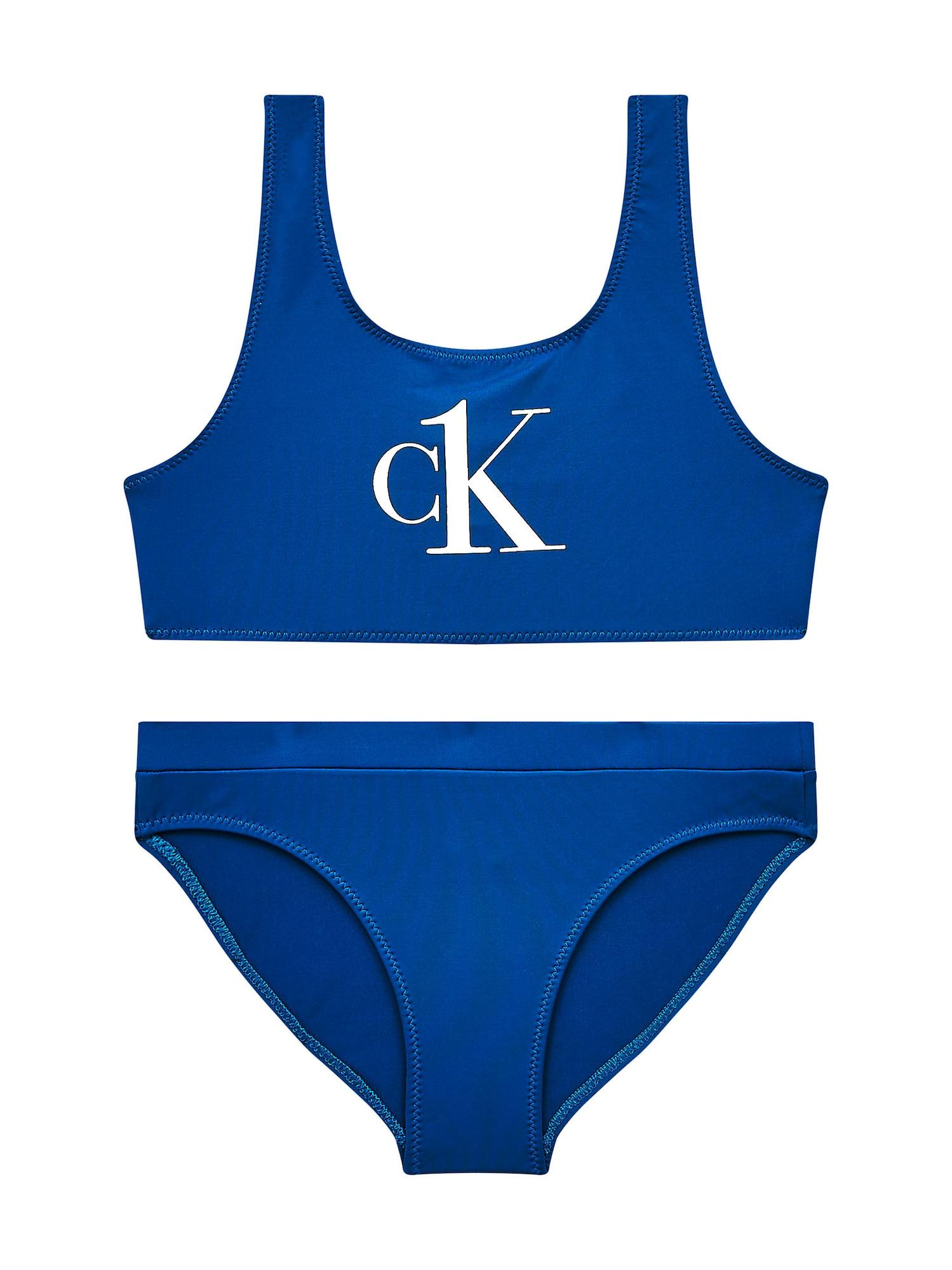 Calvin Klein Swimwear Bikinis šviesiai mėlyna