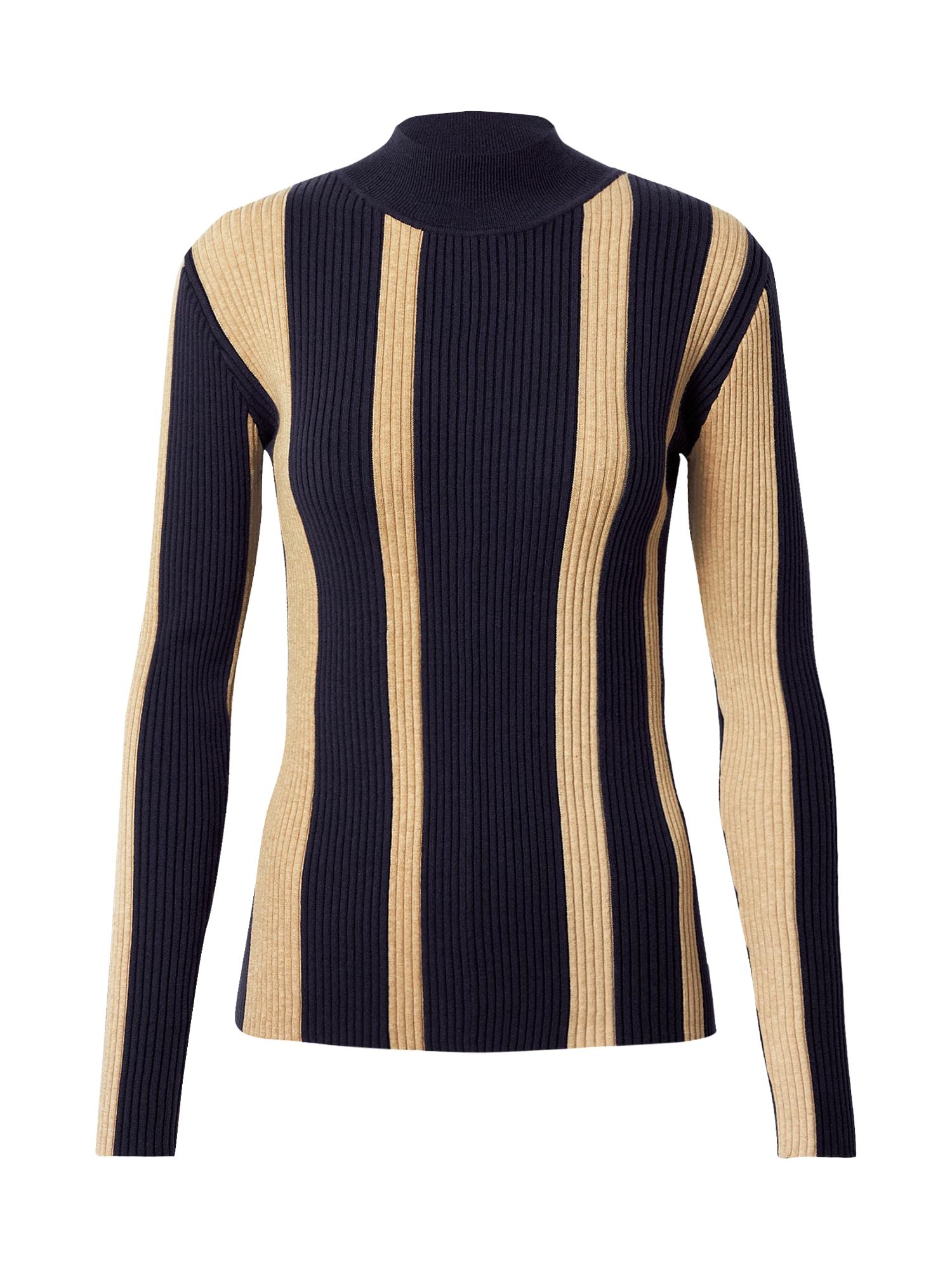 SCOTCH & SODA Megztinis tamsiai mėlyna / smėlio