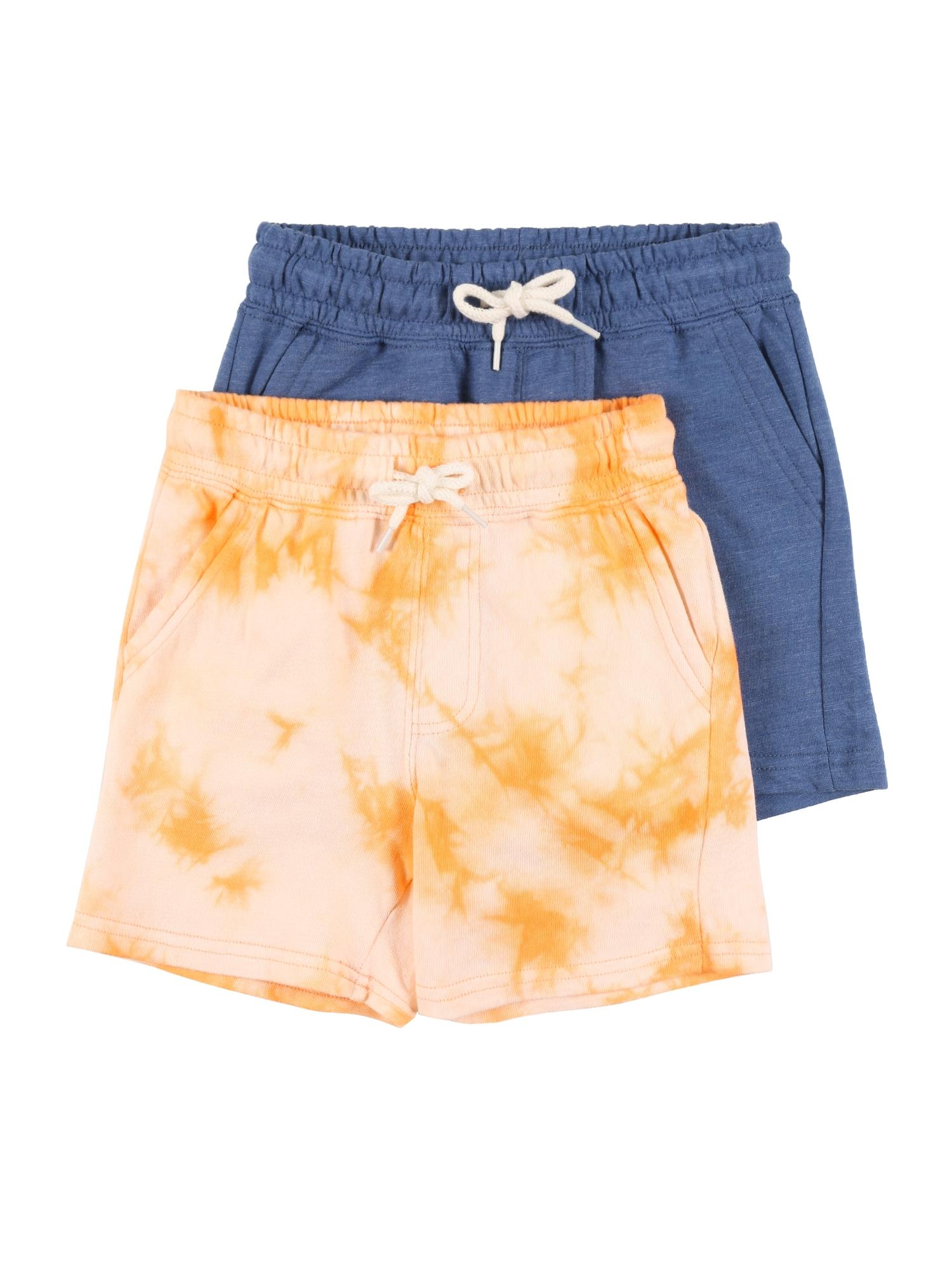 Cotton On Kelnės 'HENRY' mėlyna / persikų spalva / oranžinė