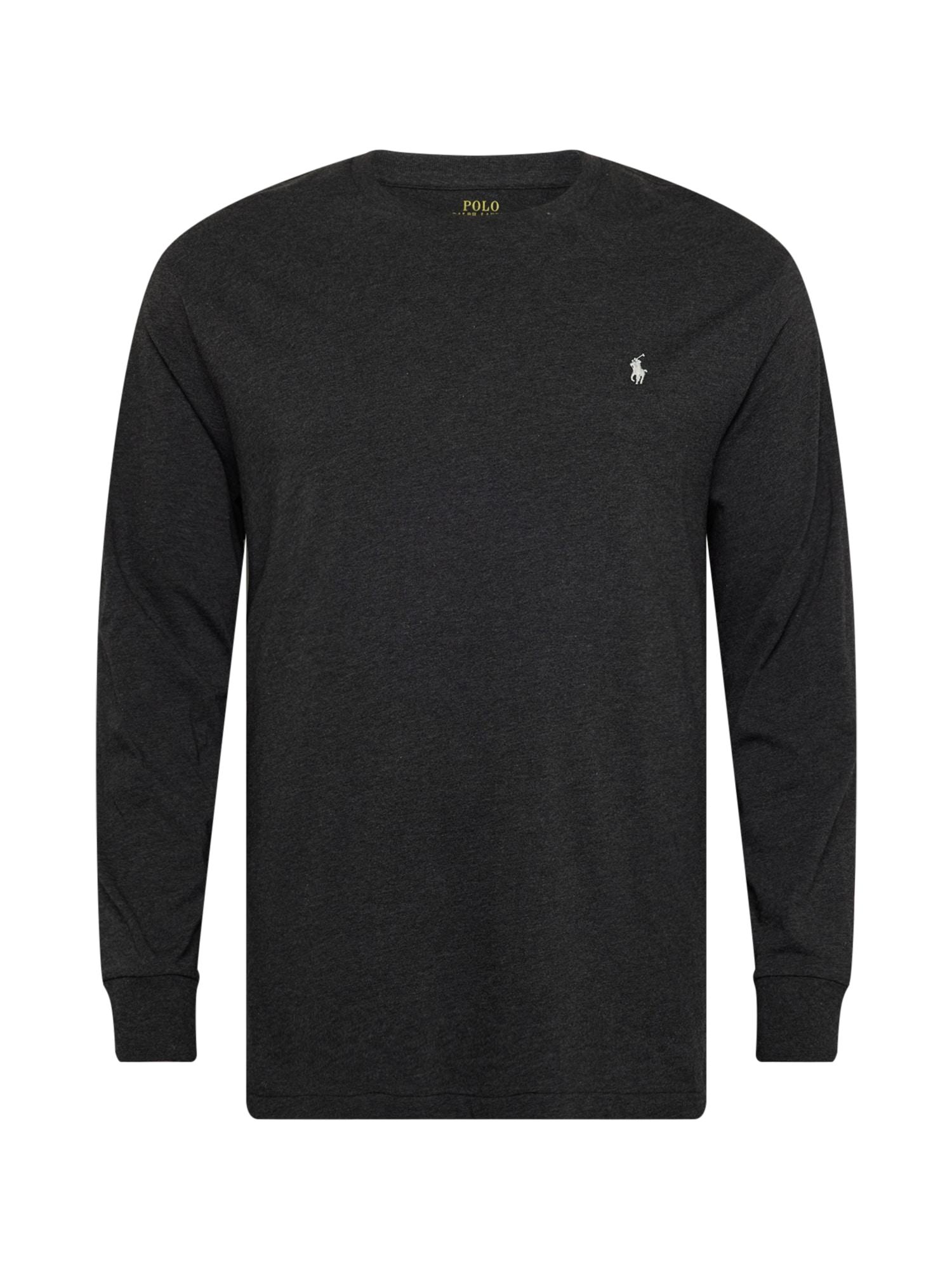 Polo Ralph Lauren Big & Tall Marškinėliai juoda / balta