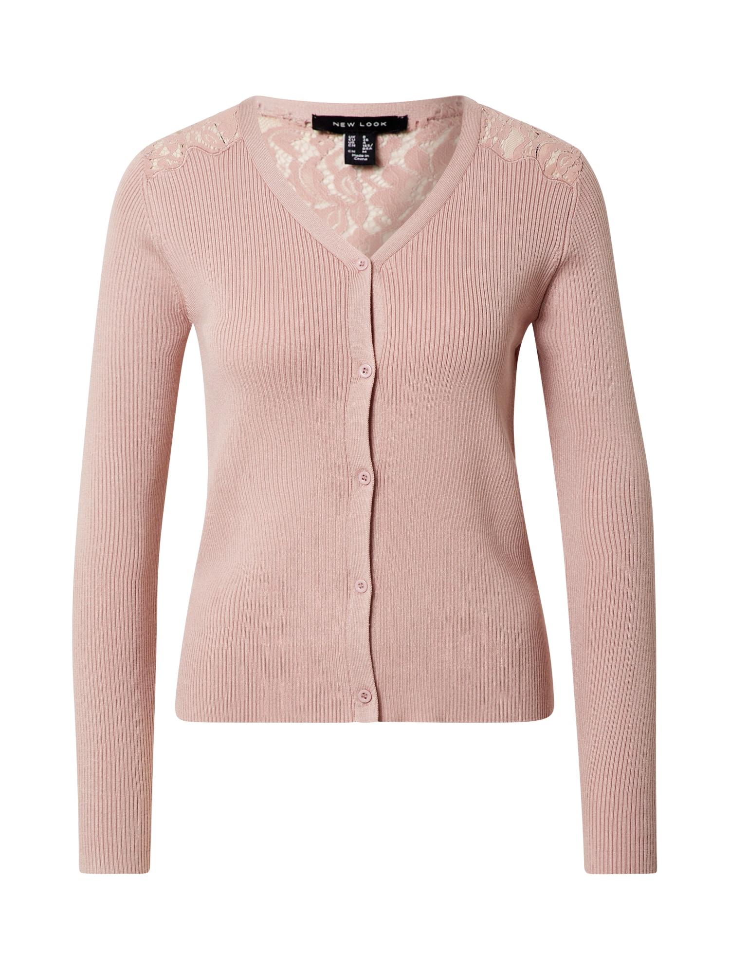 NEW LOOK Kardiganas ryškiai rožinė spalva