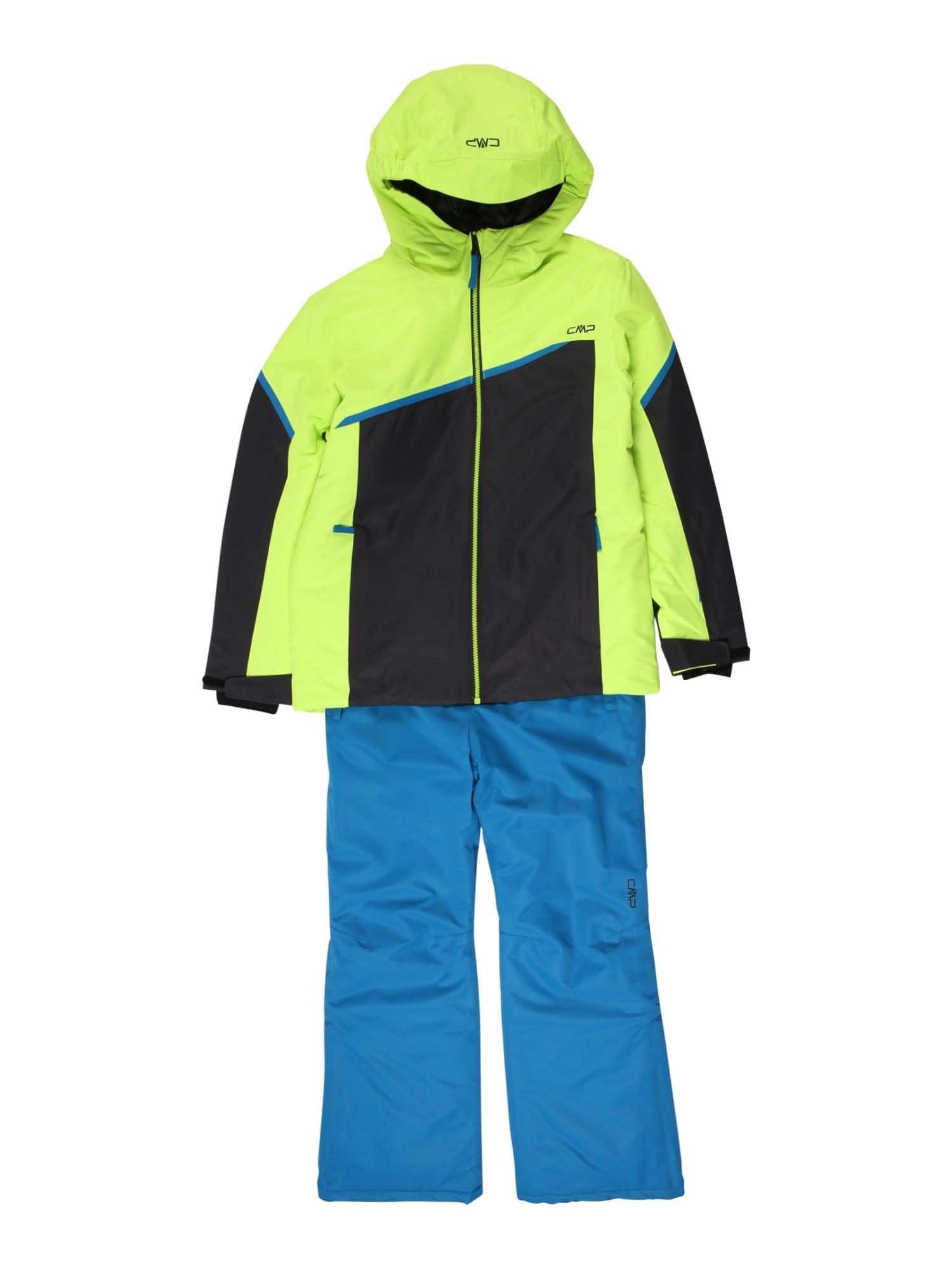 CMP Sportinis kostiumas geltona / dangaus žydra / juoda