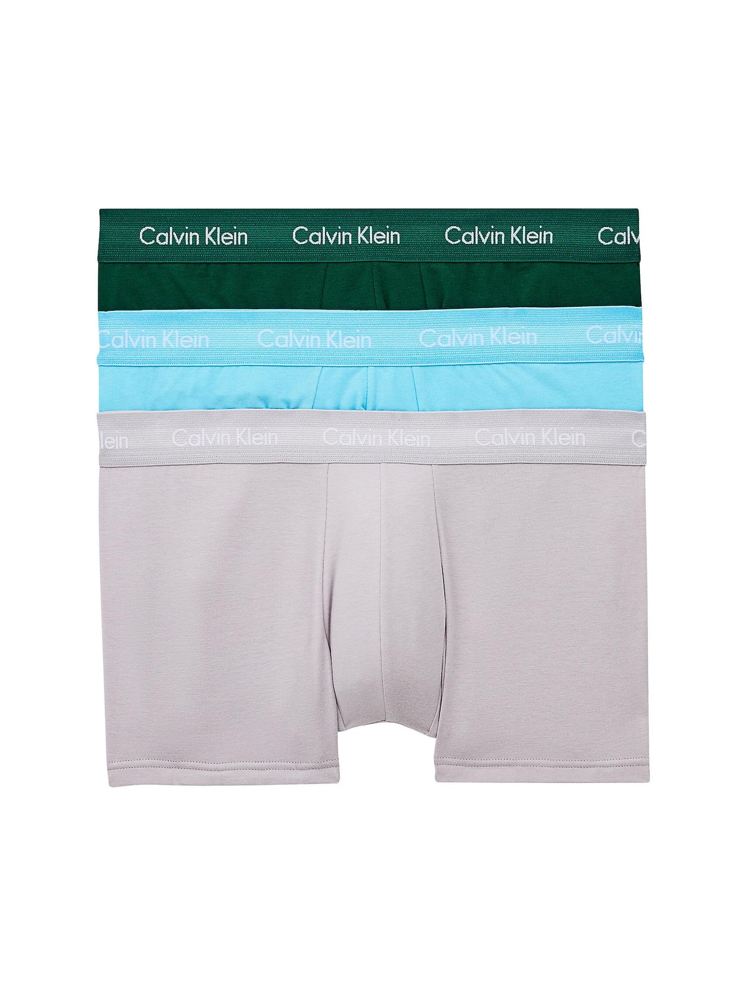 Calvin Klein Underwear Boxer trumpikės įdegio spalva / vandens spalva / pilka