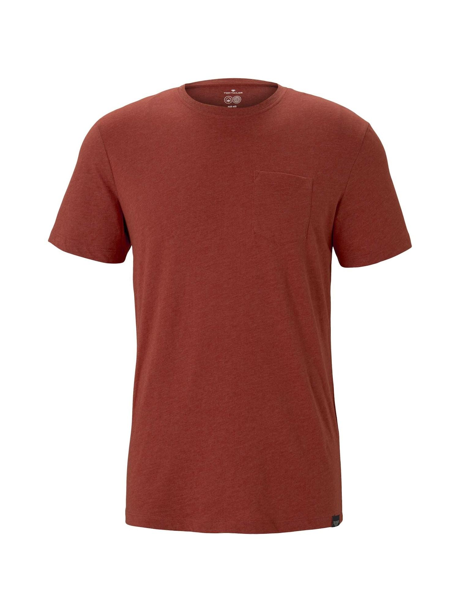 TOM TAILOR Tričko  červená