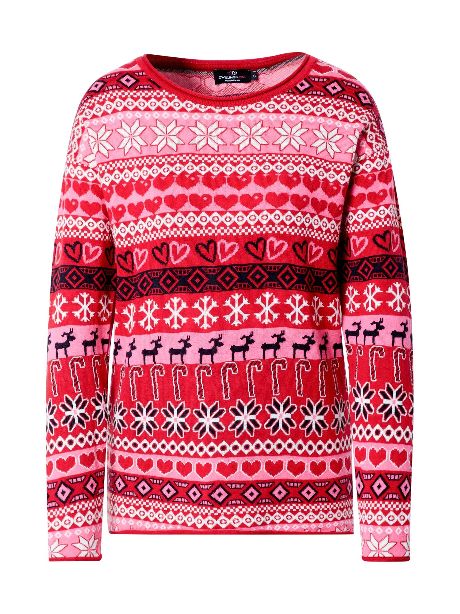 Zwillingsherz Megztinis