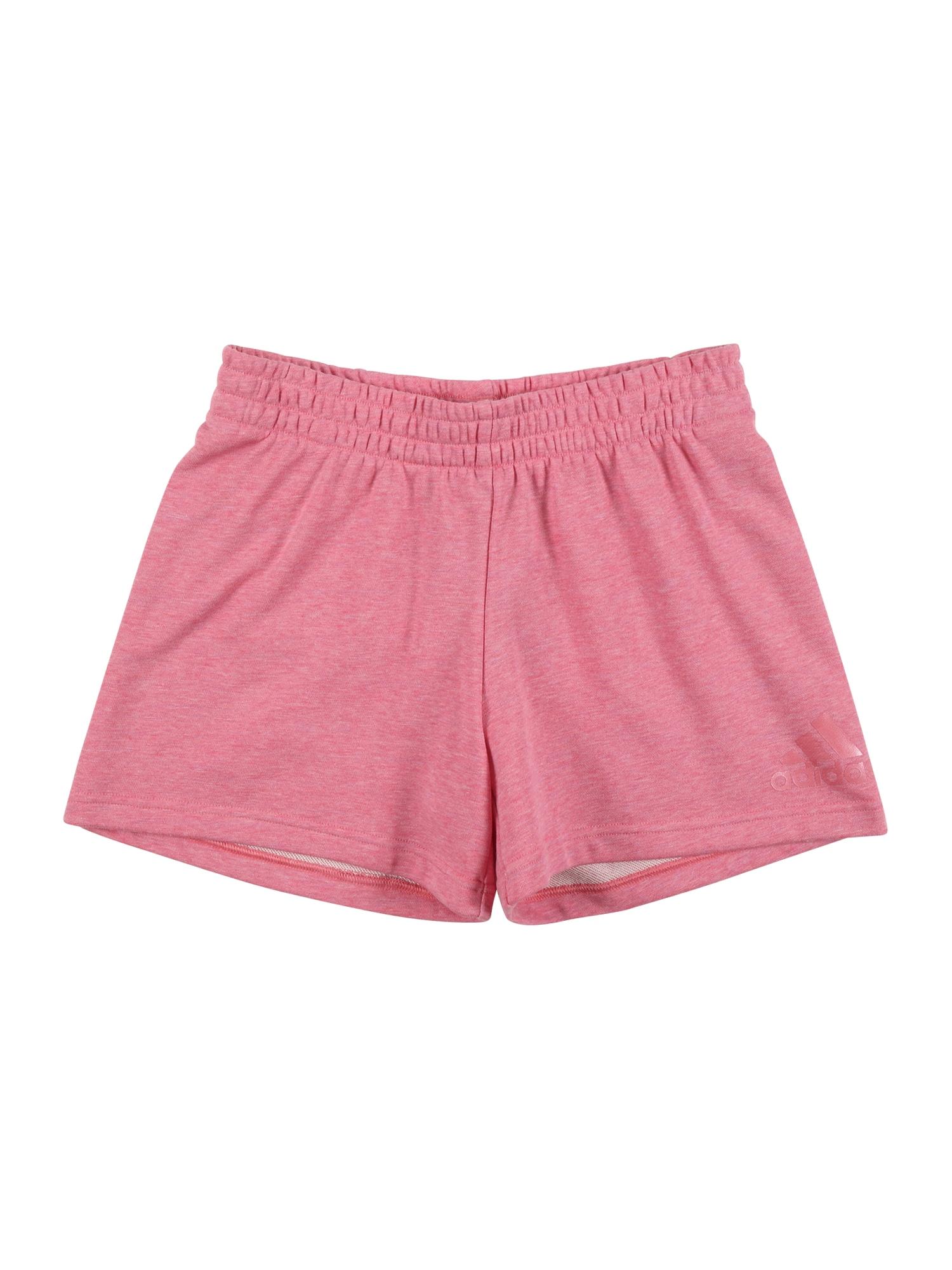 ADIDAS PERFORMANCE Sportinės kelnės 'BOS' rožinė