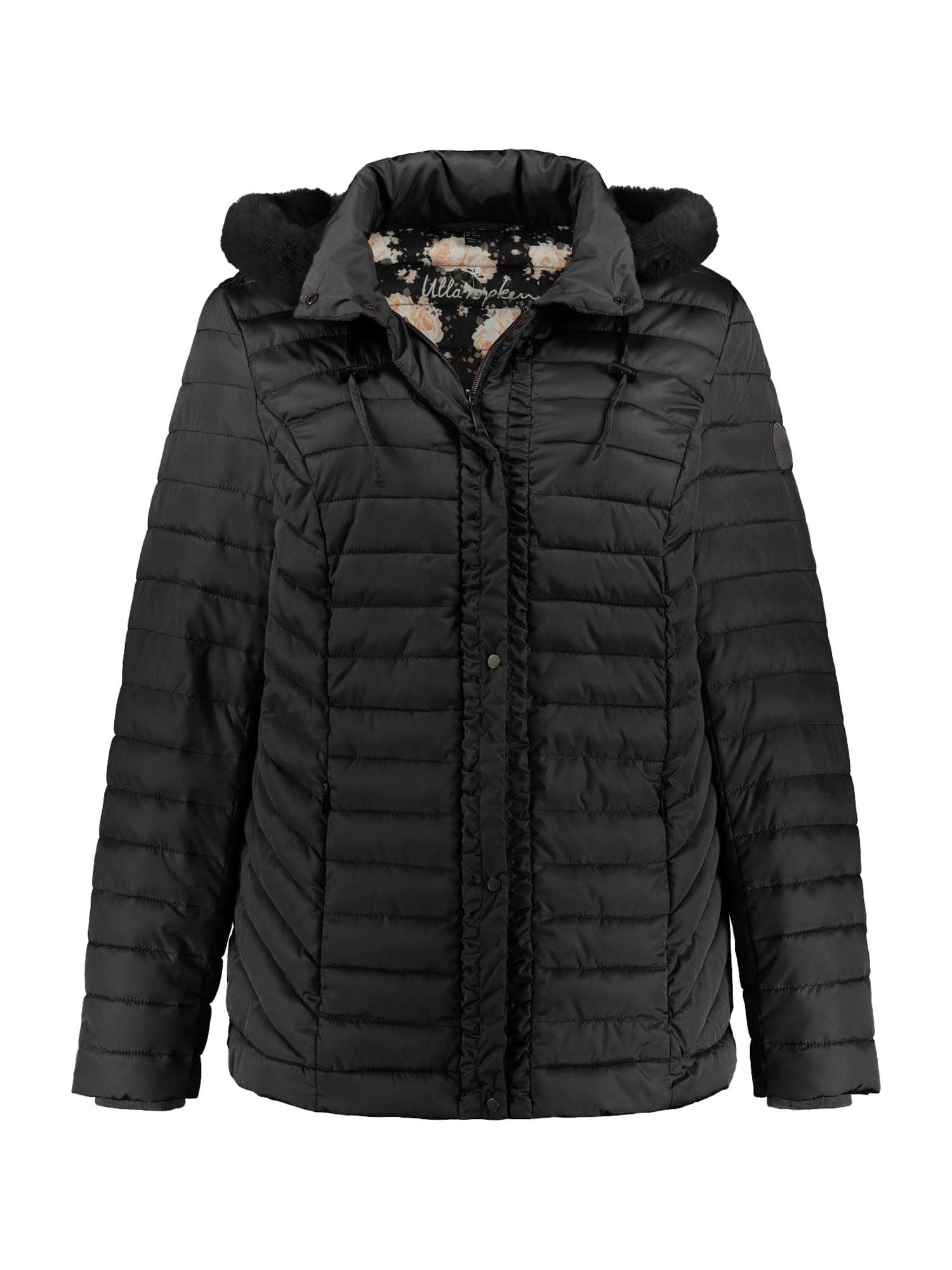 Ulla Popken Zimná bunda  čierna