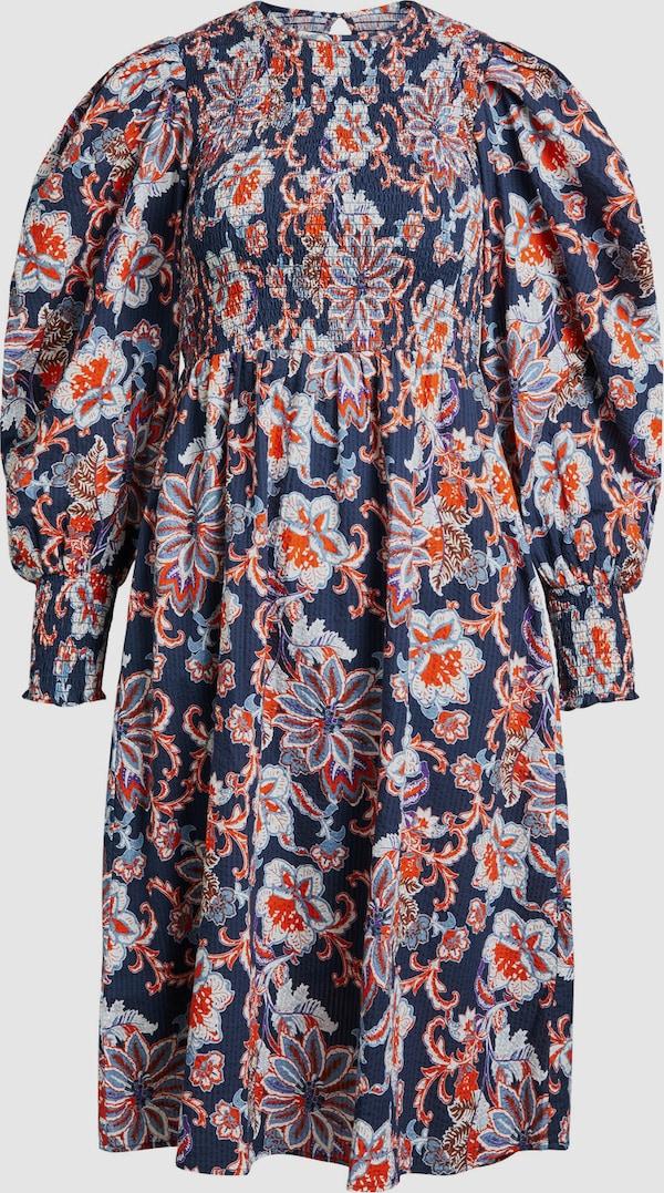 Object Naomi Langärmeliges Smock-Kleid