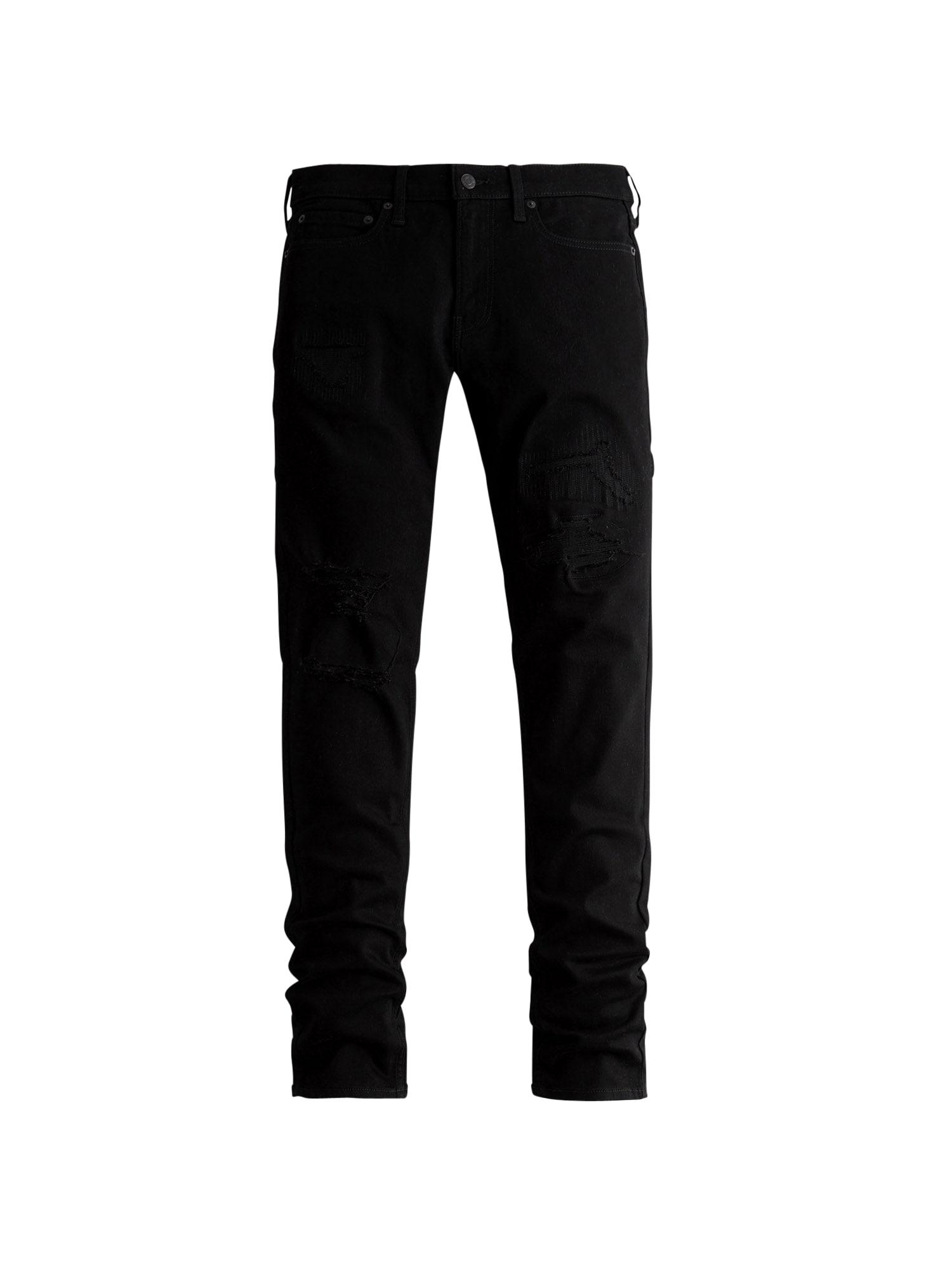 HOLLISTER Džíny  černá džínovina