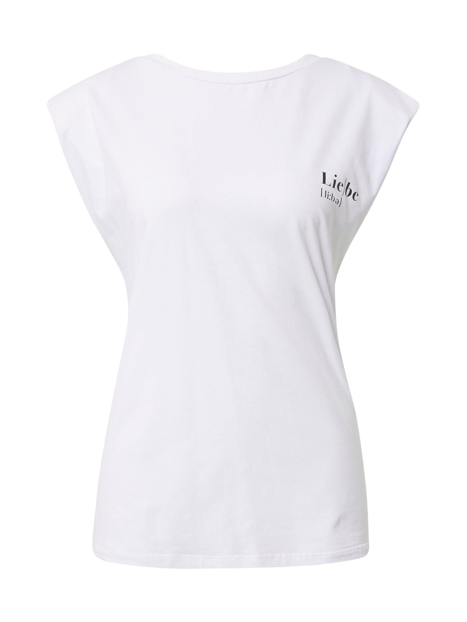 Liebesglück Marškinėliai balta