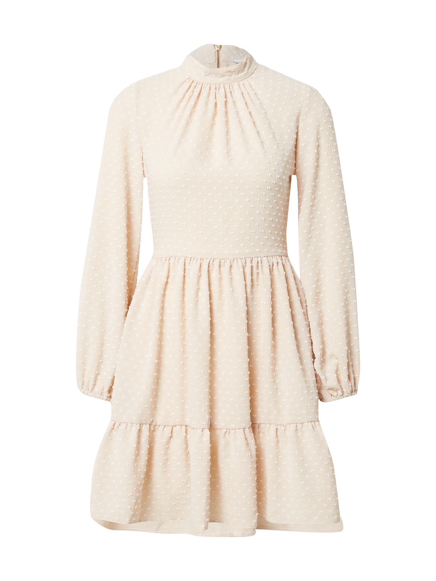 Closet London Palaidinės tipo suknelė smėlio spalva
