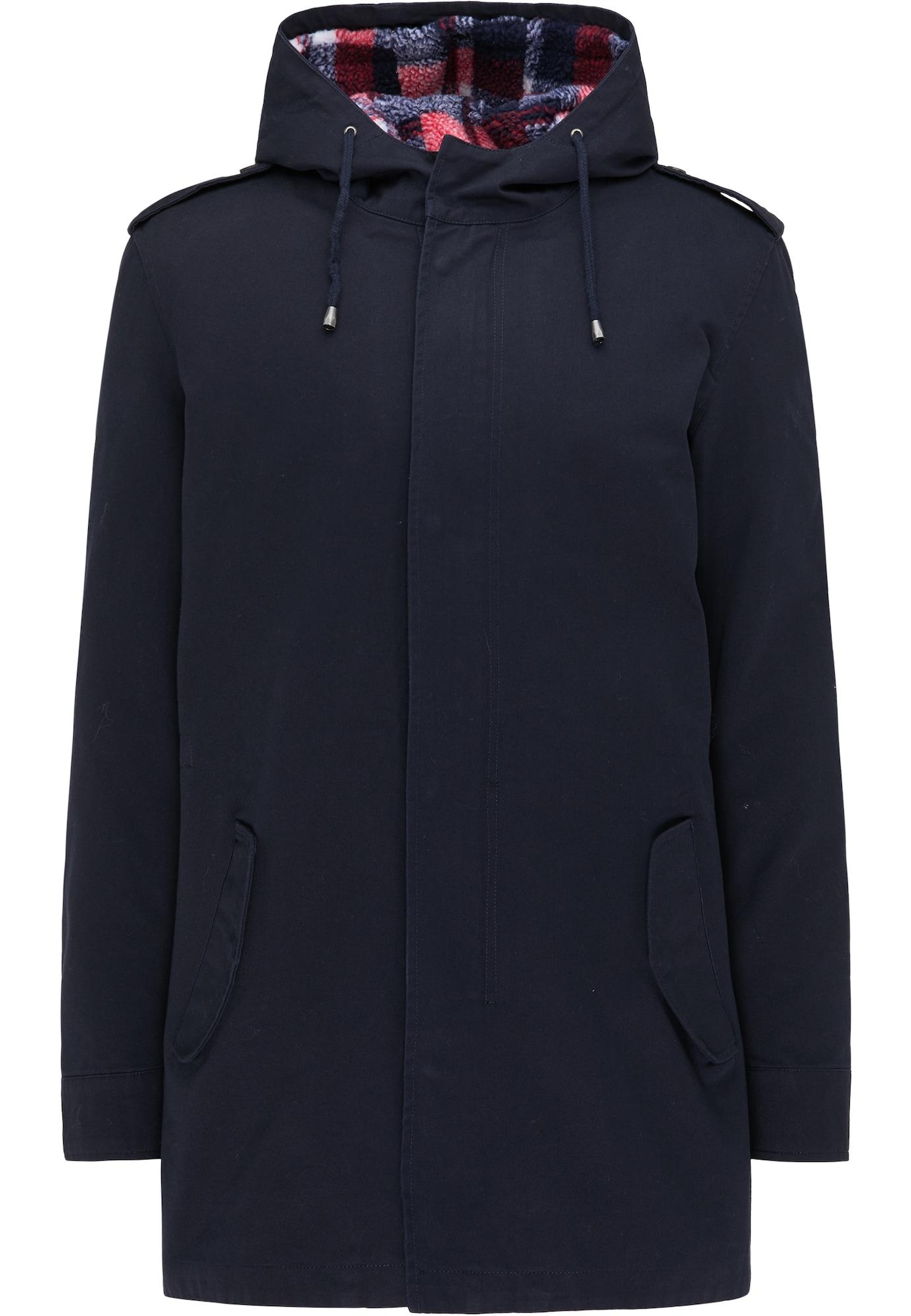 MO Demisezoninis paltas tamsiai mėlyna jūros spalva