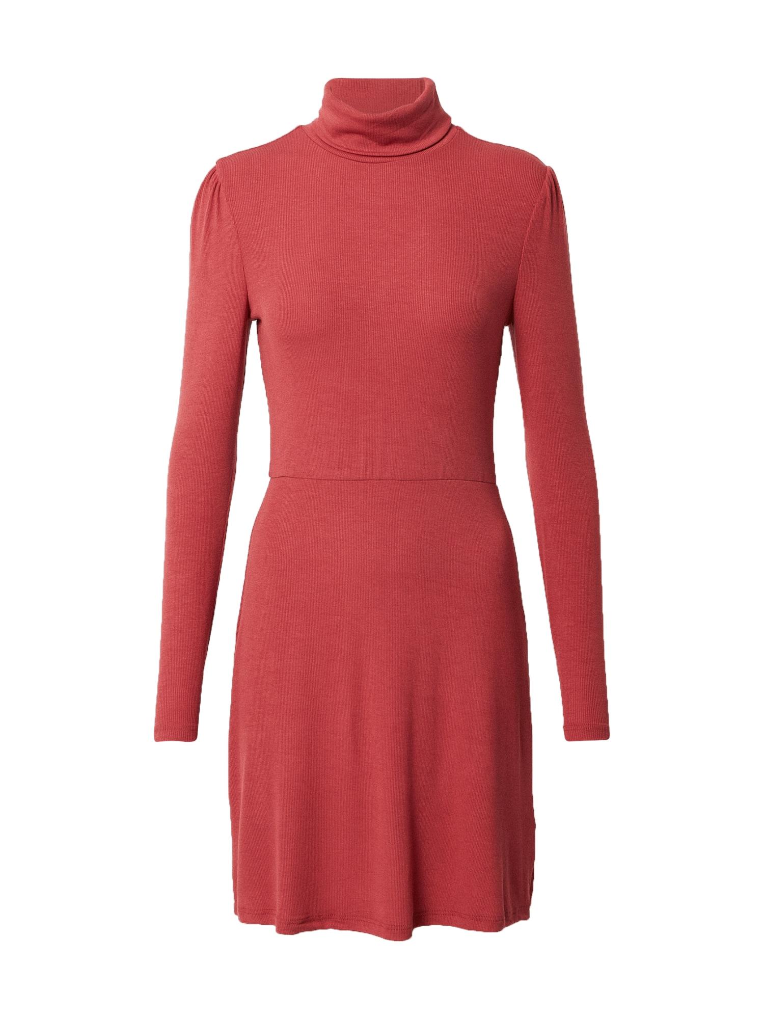 GLAMOROUS Suknelė oranžinė-raudona