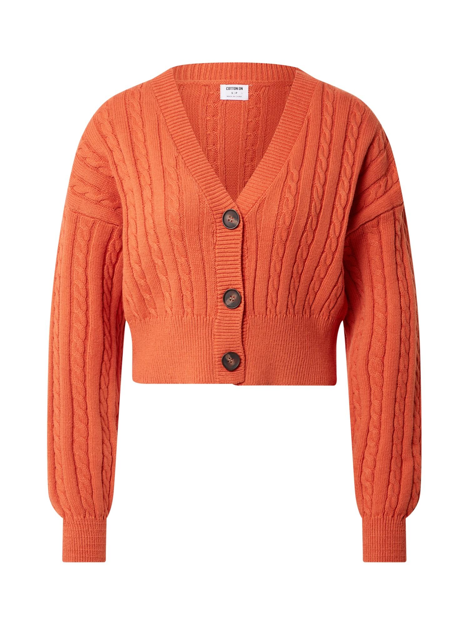 Cotton On Kardiganas oranžinė