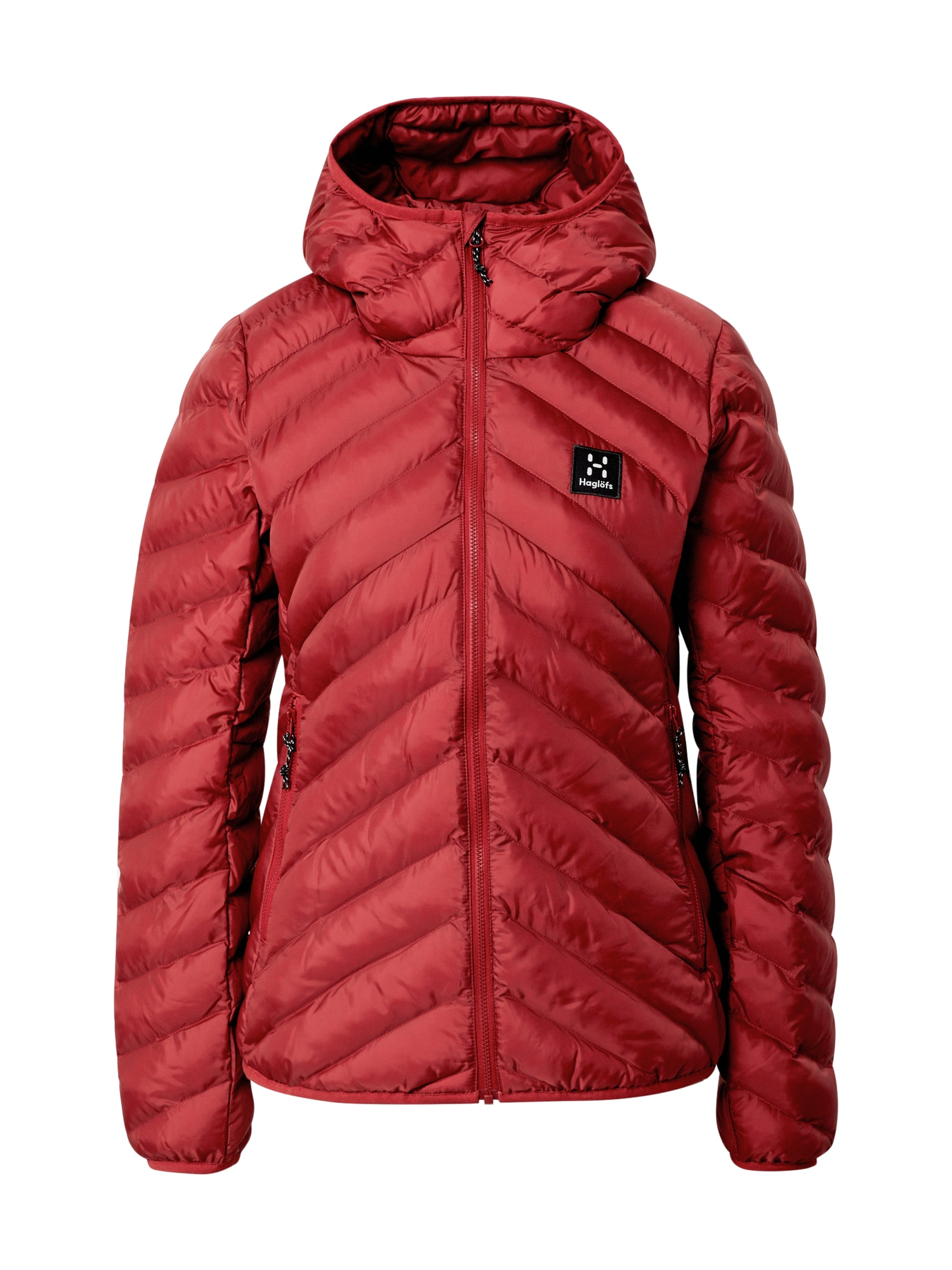 Haglöfs Outdoorová bunda 'Särna'  červená / čierna