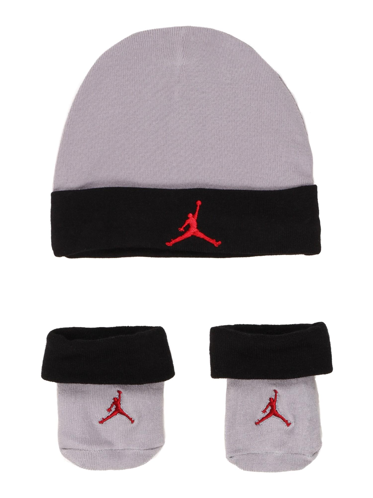 Jordan Megzta kepurė pilka / juoda / raudona