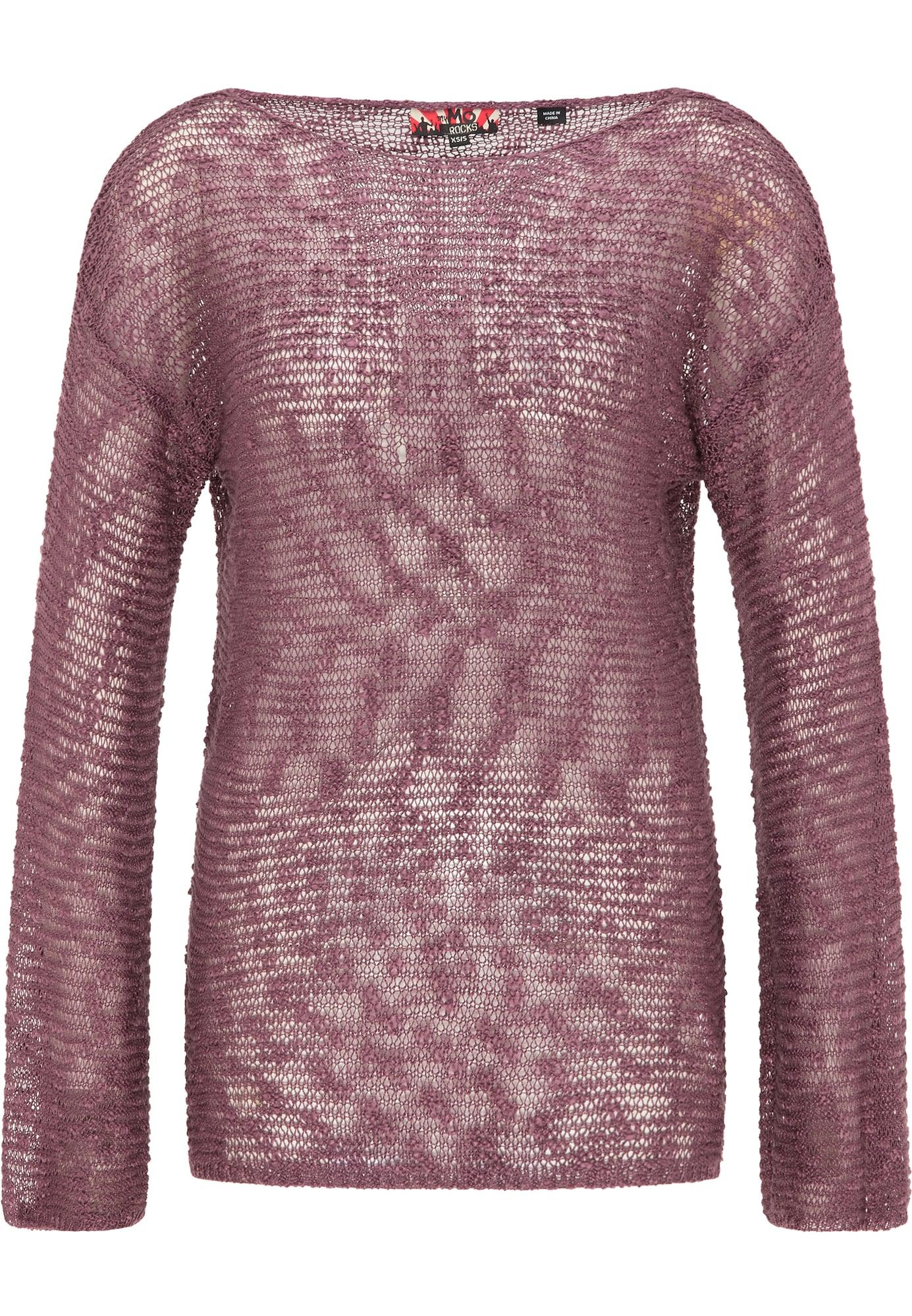 myMo ROCKS Megztinis purpurinė