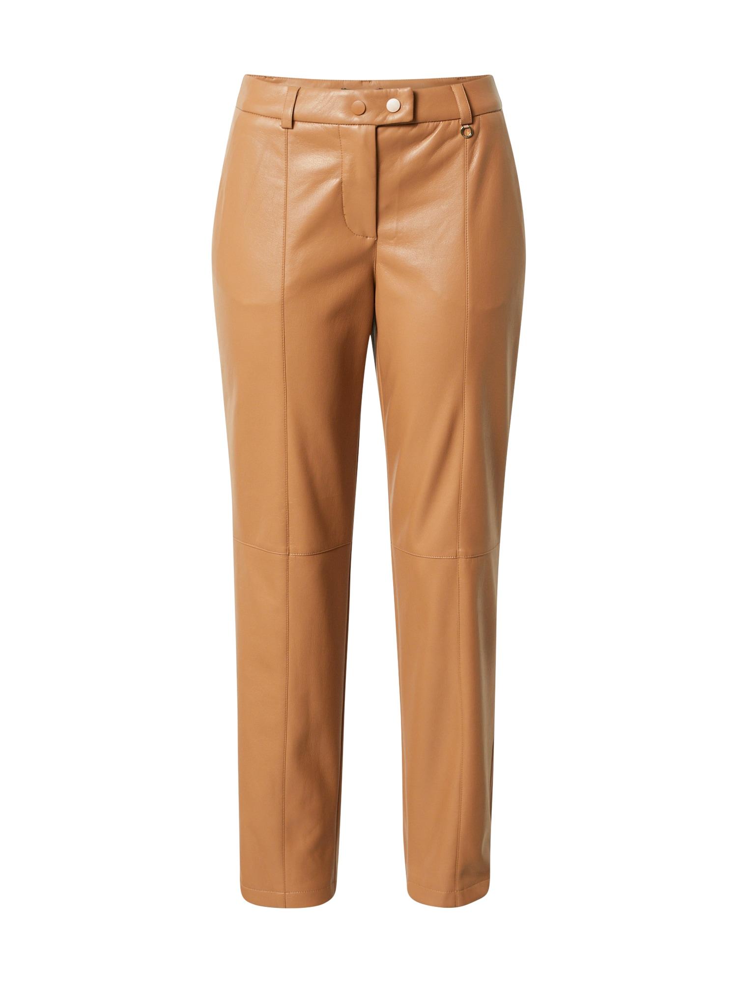 COMMA Kelnės rusvai oranžinė