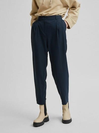 Selected Femme Blue Tailored Hose im Wide-Leg Fit