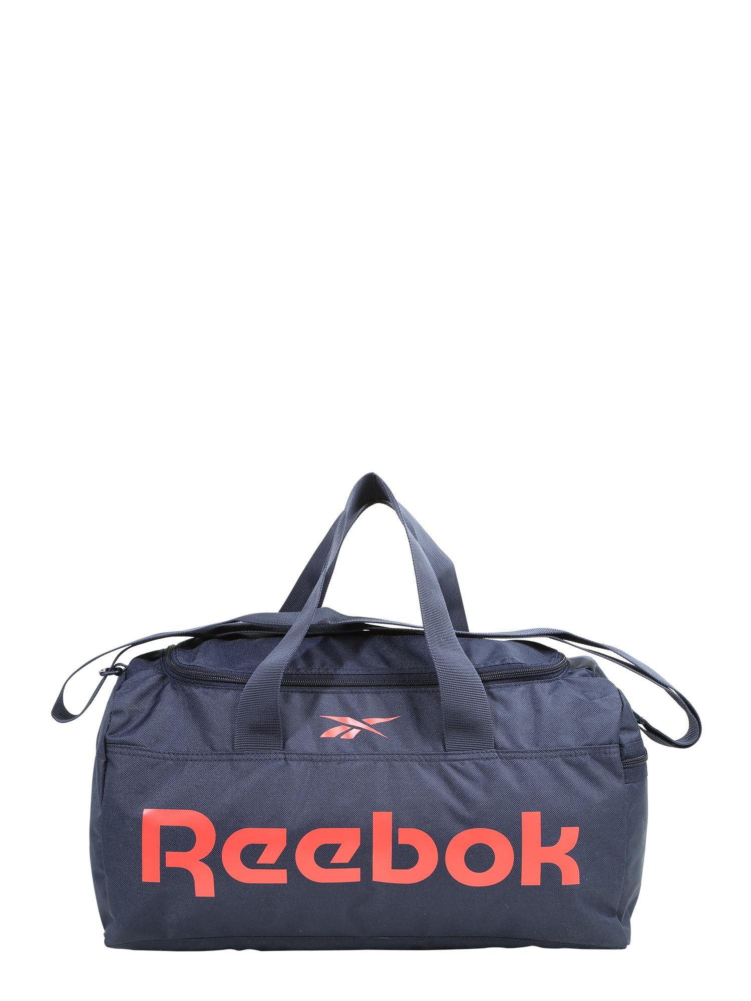 REEBOK Sportinis krepšys tamsiai mėlyna / raudona