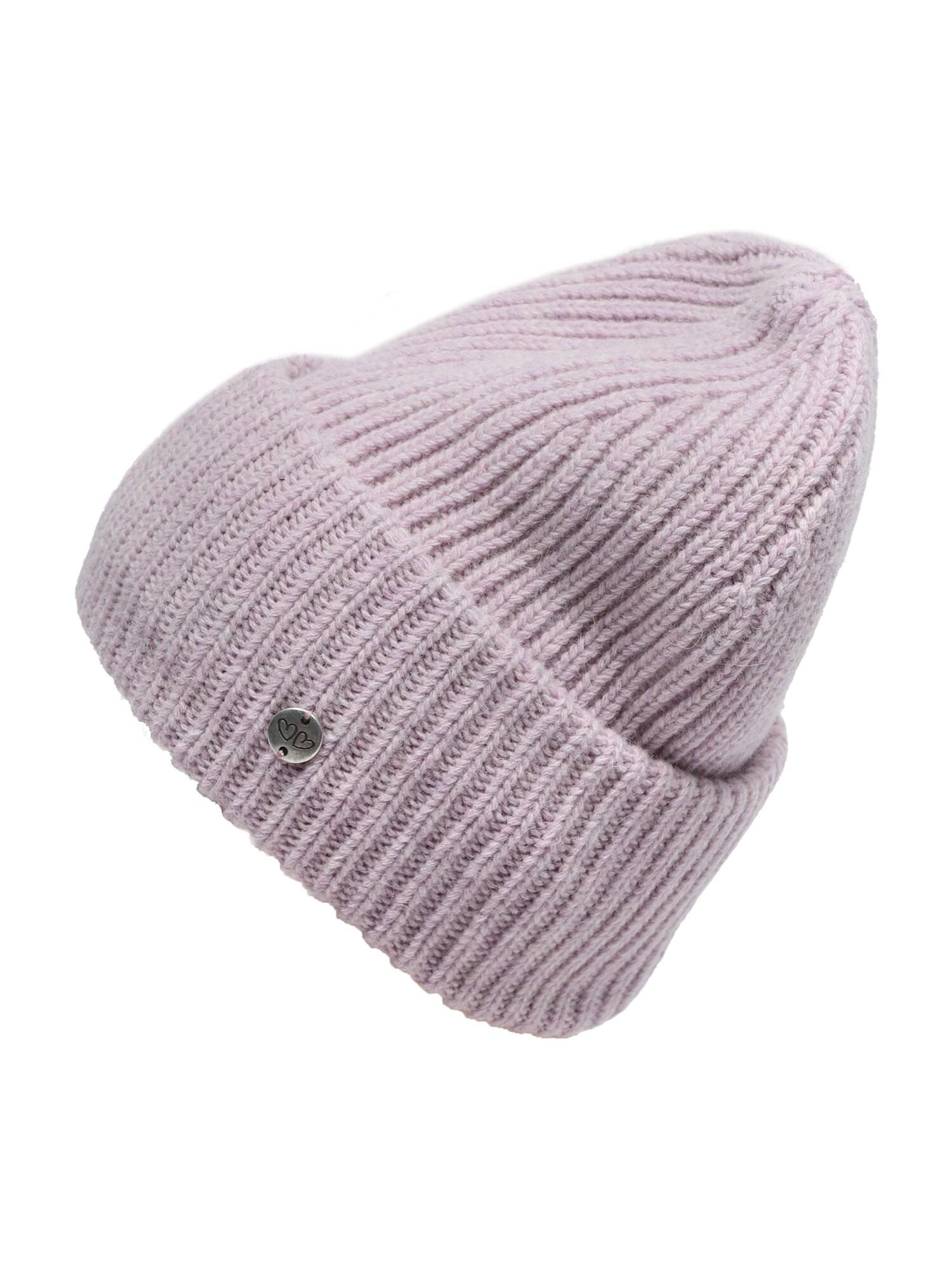 Zwillingsherz Megzta kepurė levandų spalva
