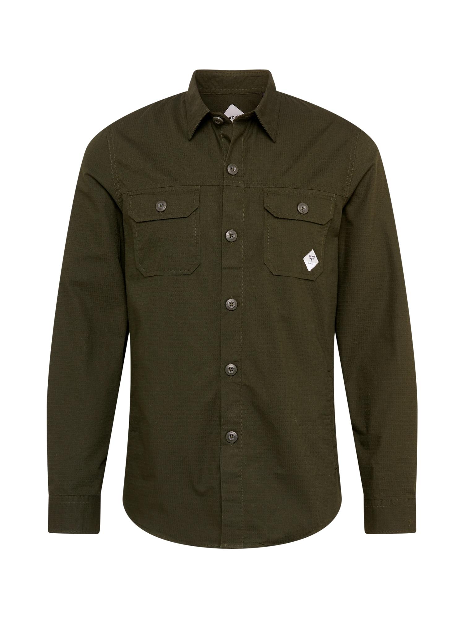 Barbour Beacon Marškiniai tamsiai žalia