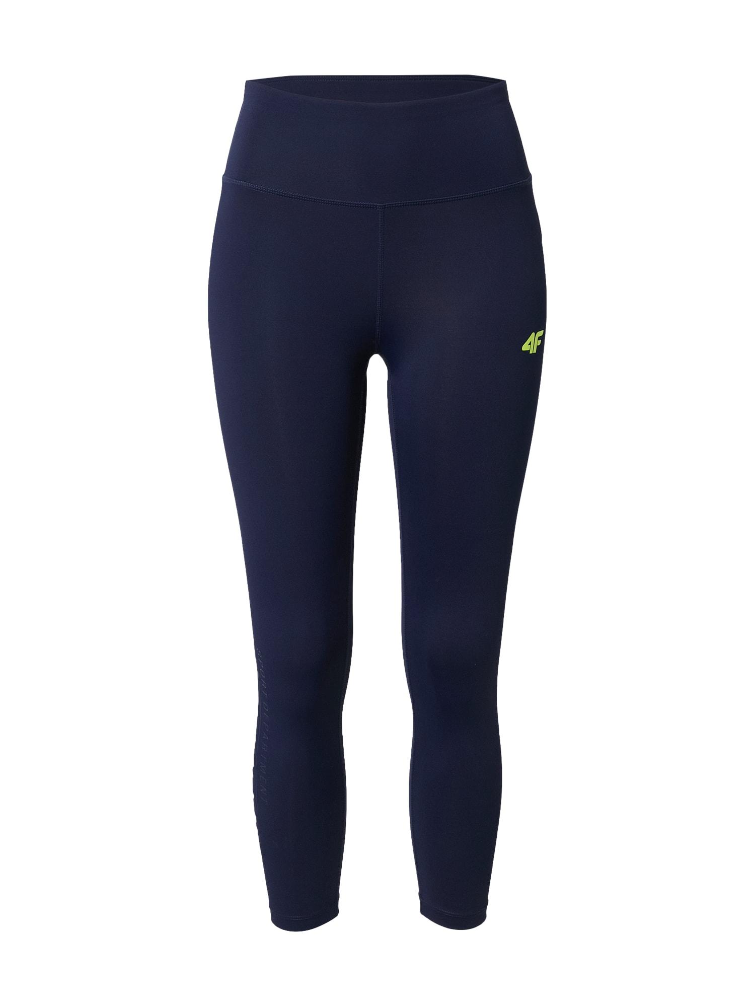 4F Sportinės kelnės tamsiai mėlyna