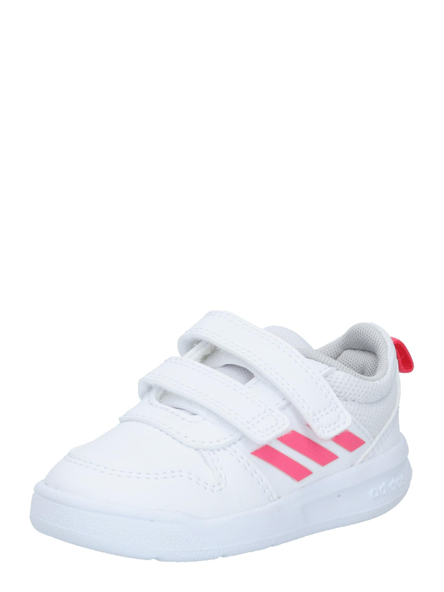 ADIDAS PERFORMANCE Sportiniai batai 'TENSAUR I' balta / rožinė