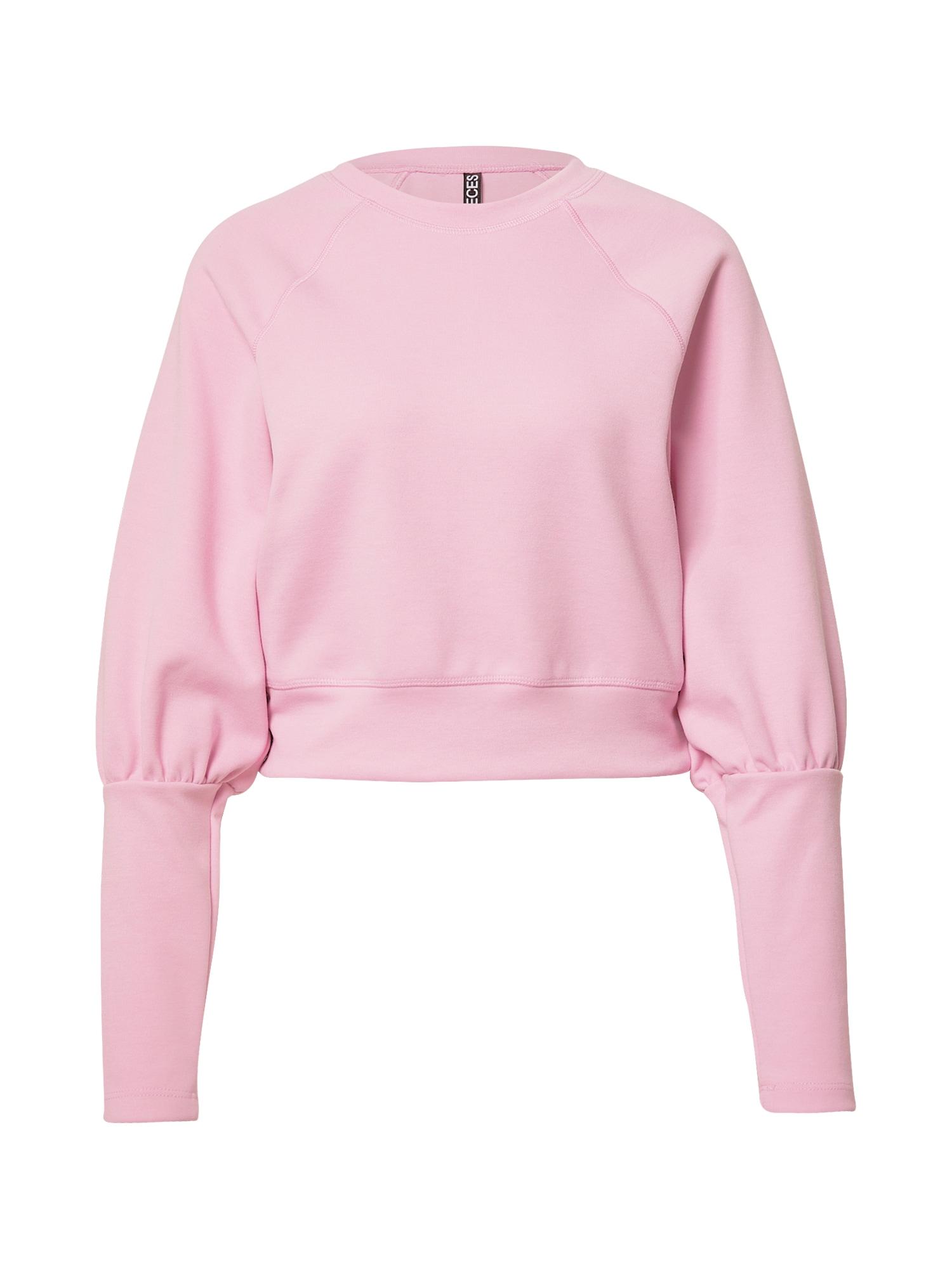 PIECES Mikina  pink