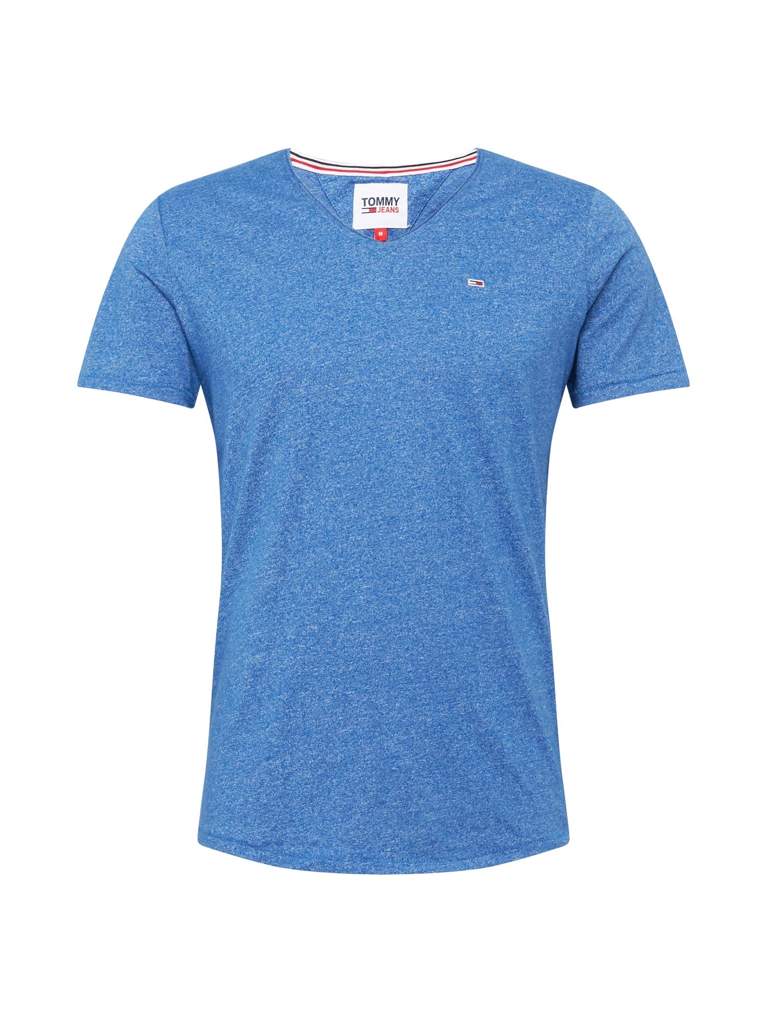 Tommy Jeans Tričko ' JASPE'  modrá