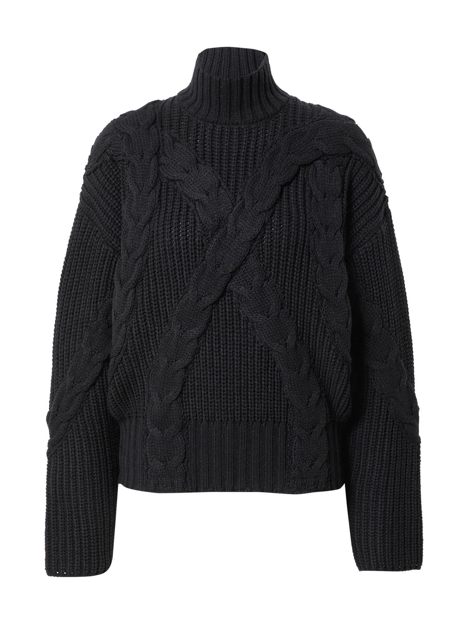 NA-KD Laisvas megztinis juoda
