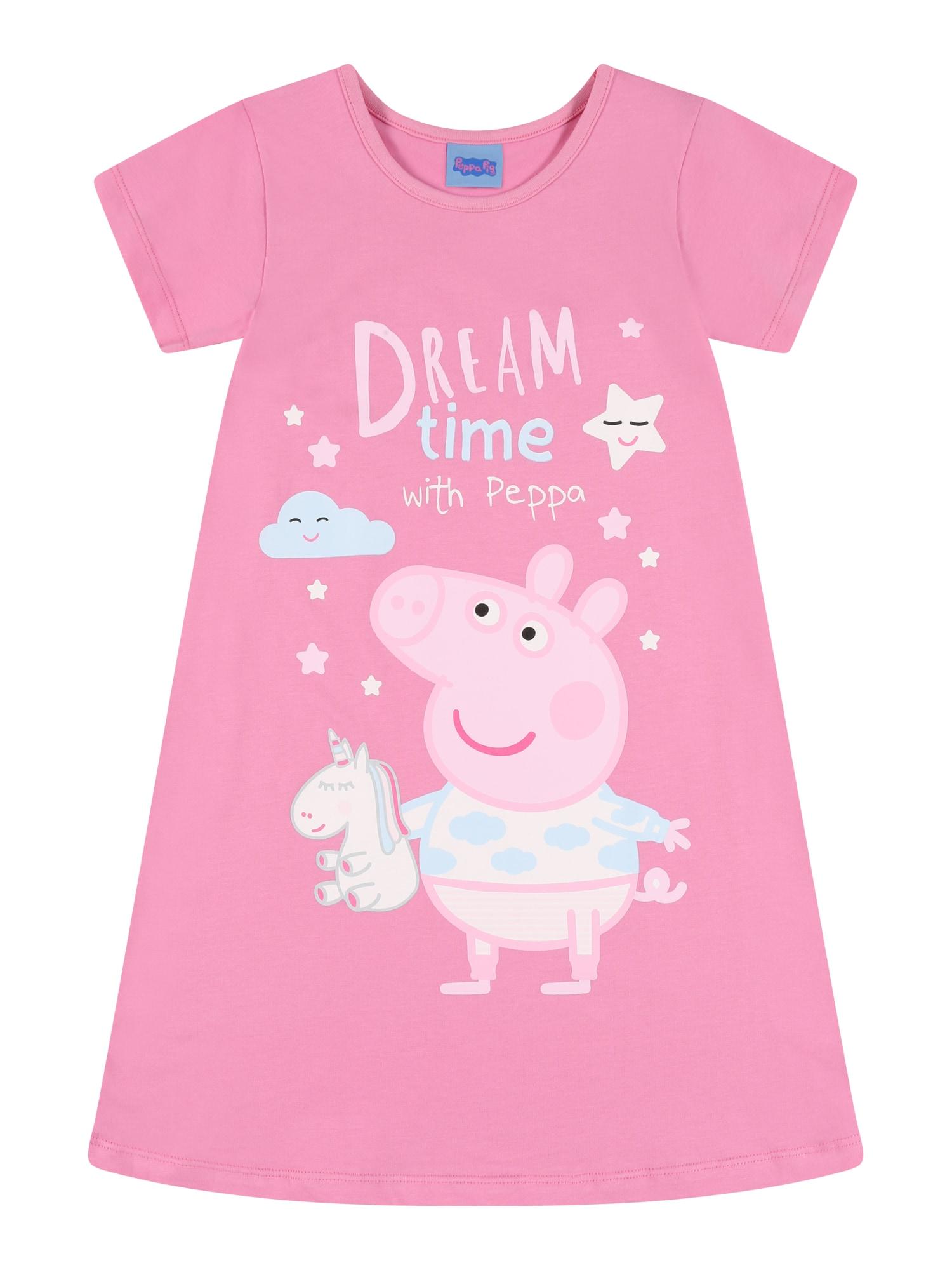 Peppa Pig Naktinukai rožinė / šviesiai mėlyna / šviesiai rožinė / balta