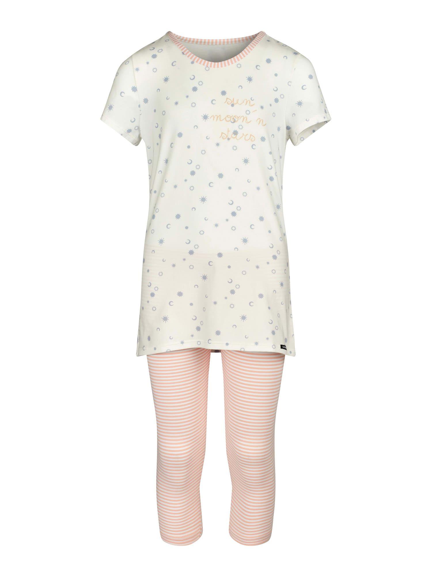 Skiny Miego kostiumas rožių spalva / kremo / šviesiai mėlyna