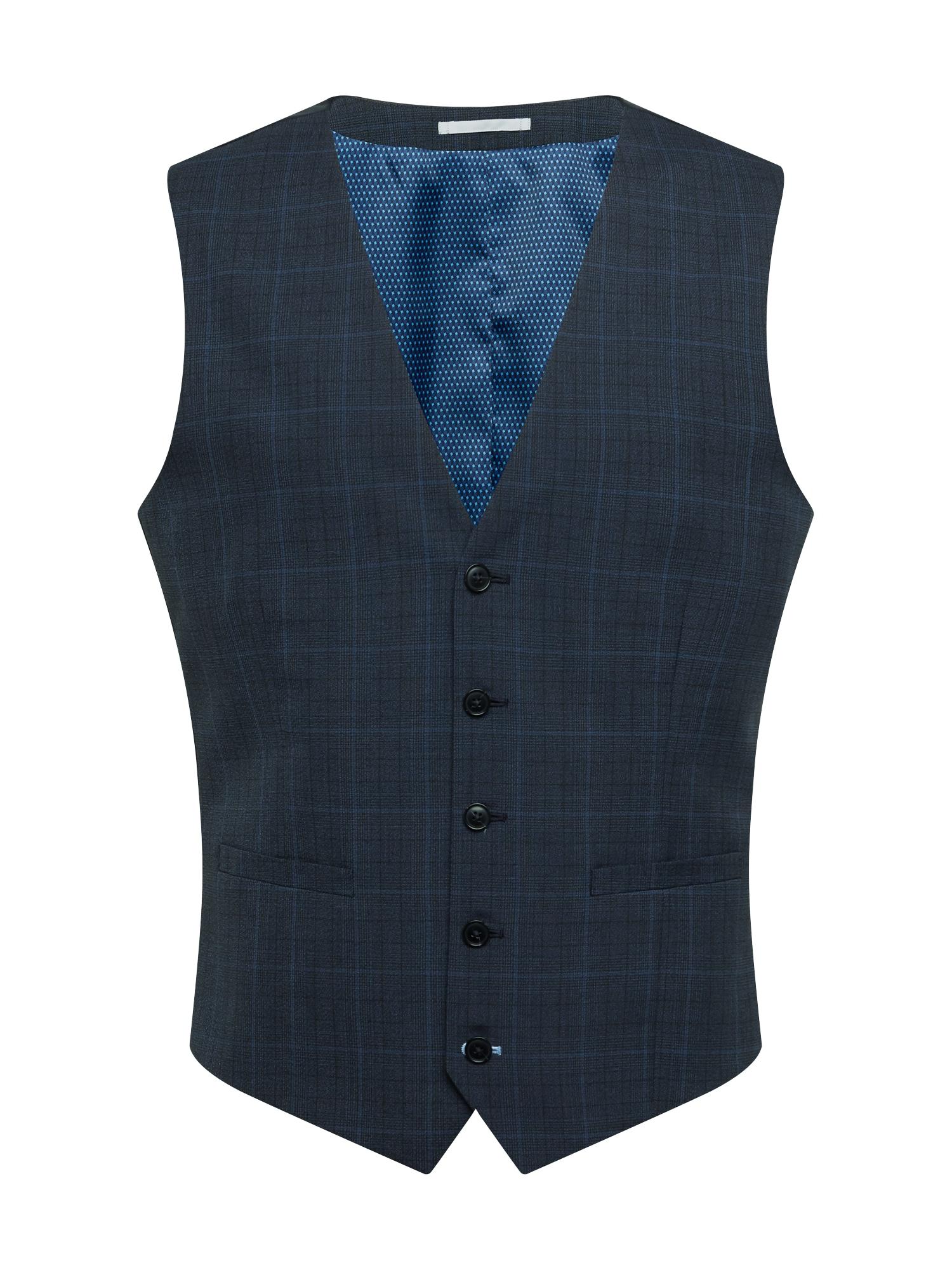 BURTON MENSWEAR LONDON Kostiuminė liemenė tamsiai mėlyna