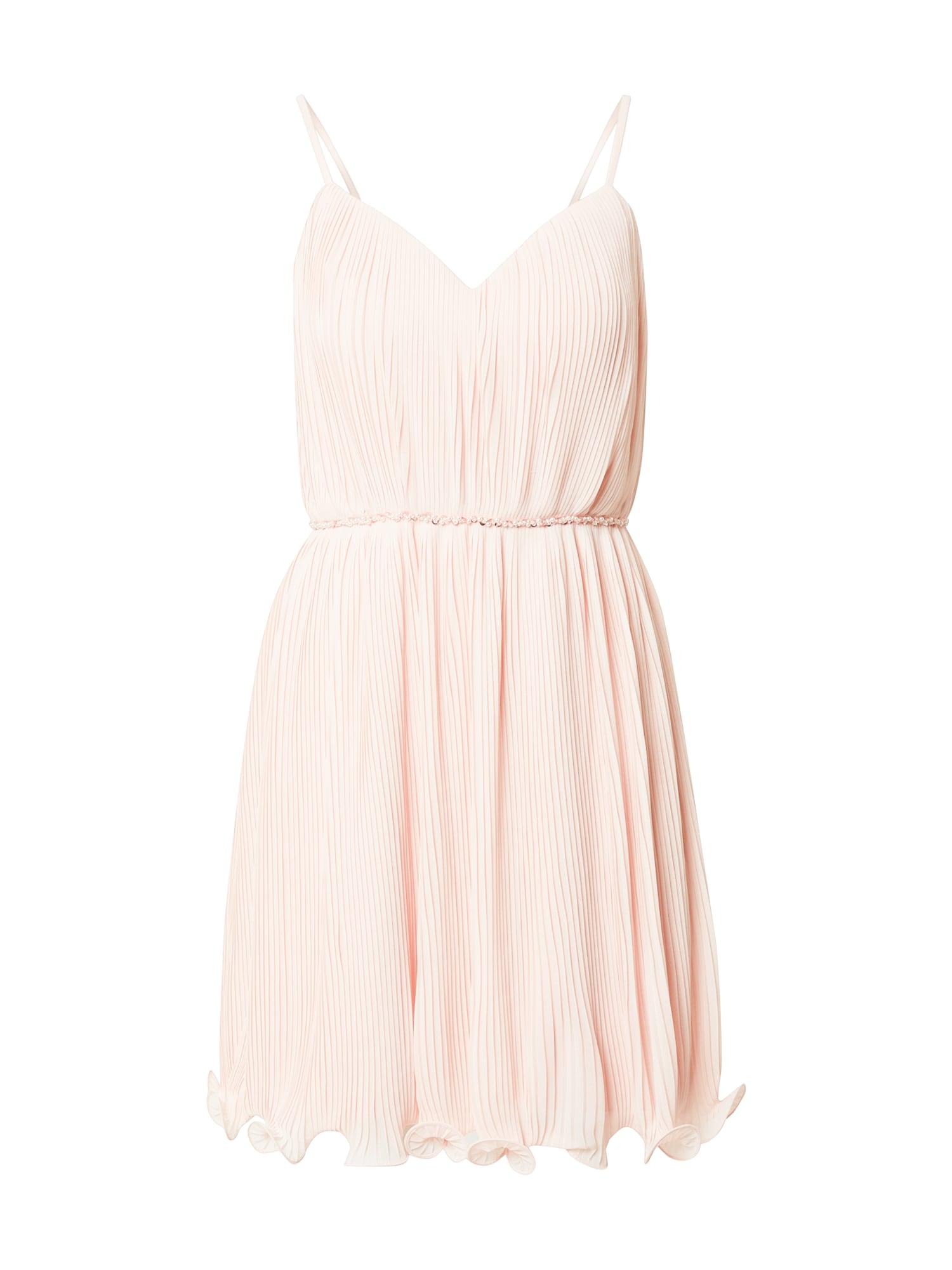 Laona Kokteilinė suknelė pastelinė rožinė