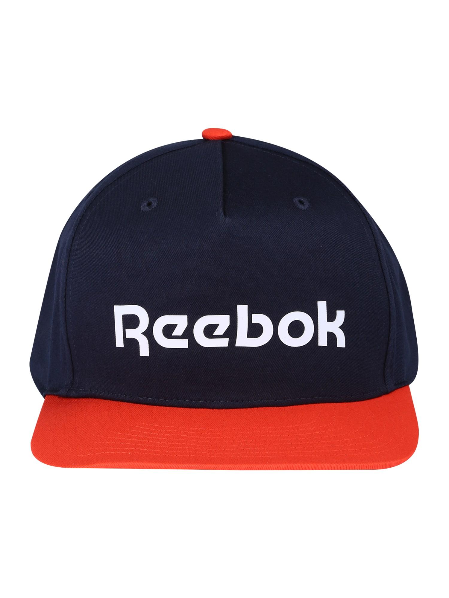 REEBOK Sportinė kepurė tamsiai mėlyna / raudona / balta