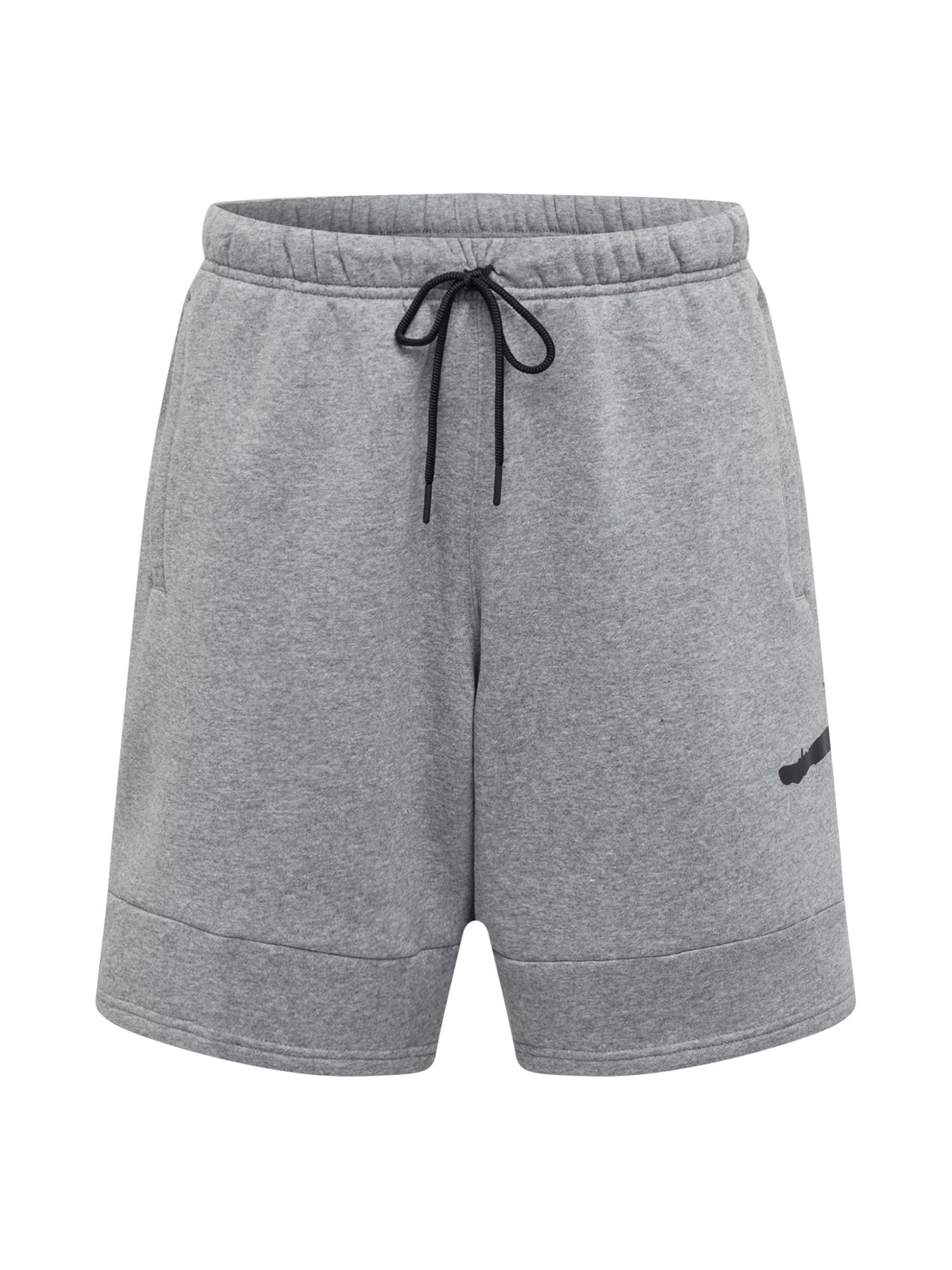 Jordan Sportinės kelnės pilka / juoda