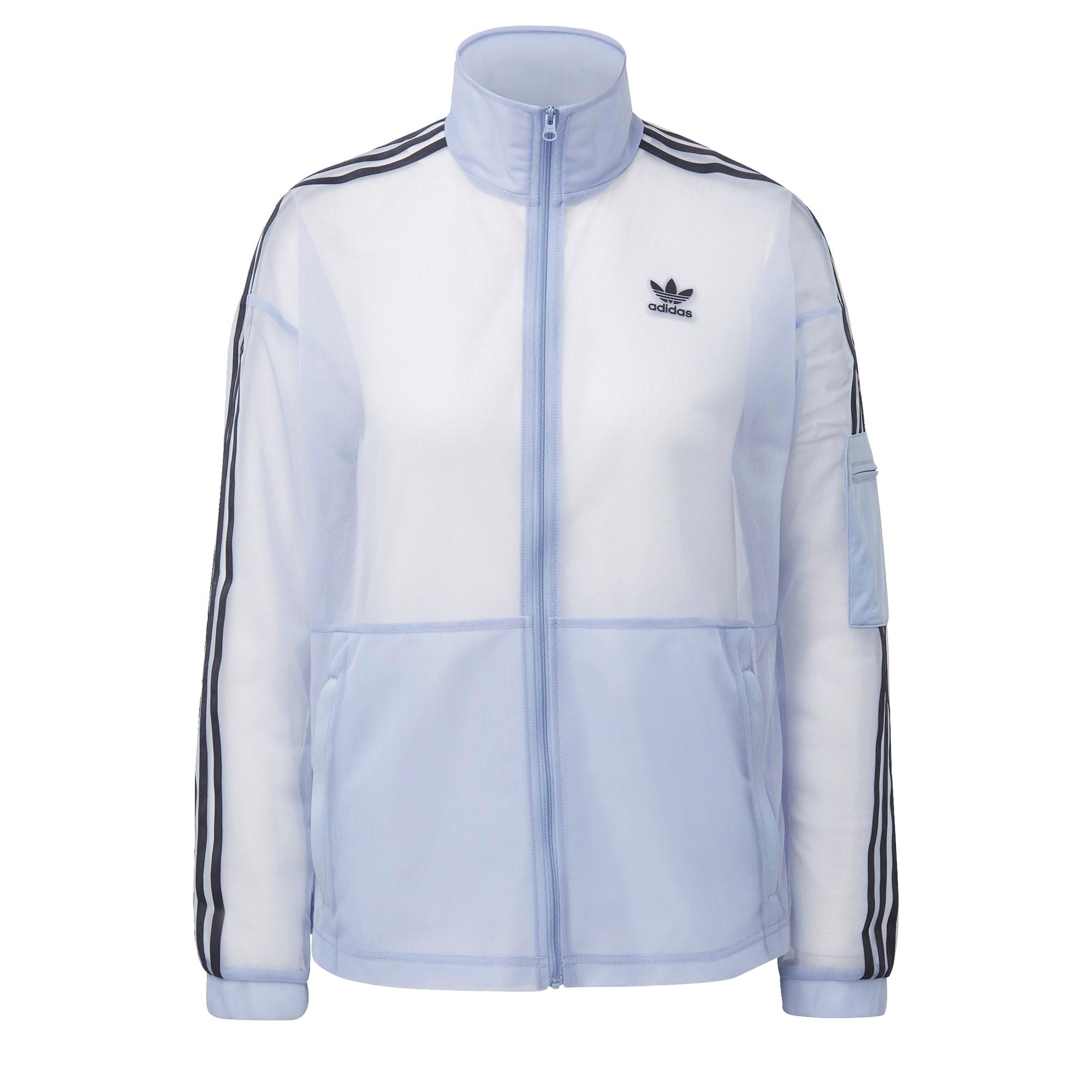 ADIDAS ORIGINALS Džemperis juoda / pastelinė mėlyna