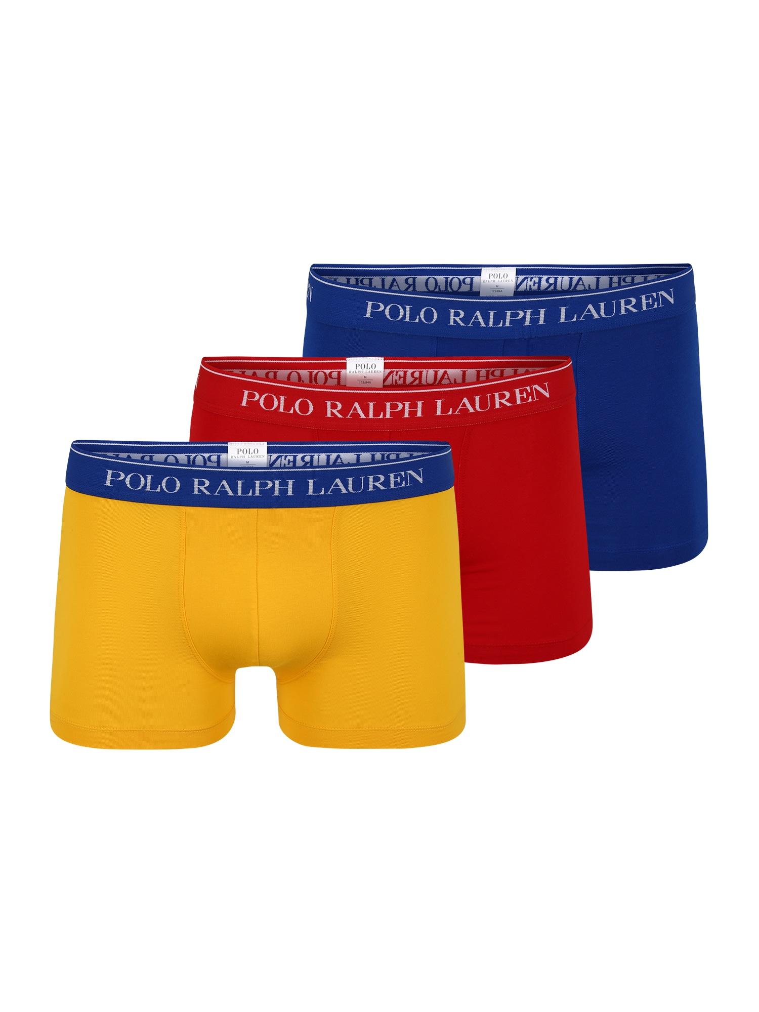 POLO RALPH LAUREN Boxerky  modrá / žlutá / červená