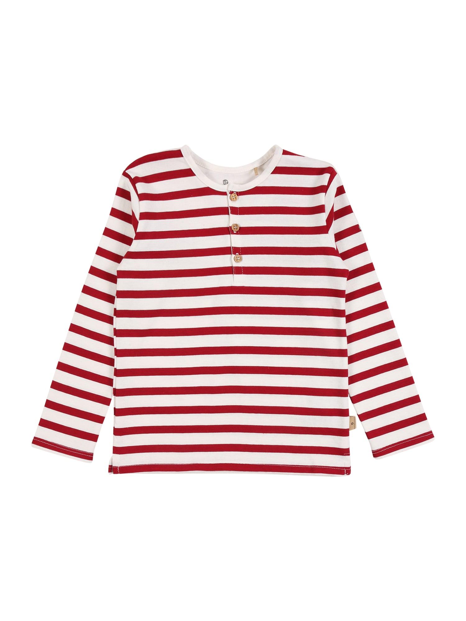 BELLYBUTTON Tričko  červená / bílá