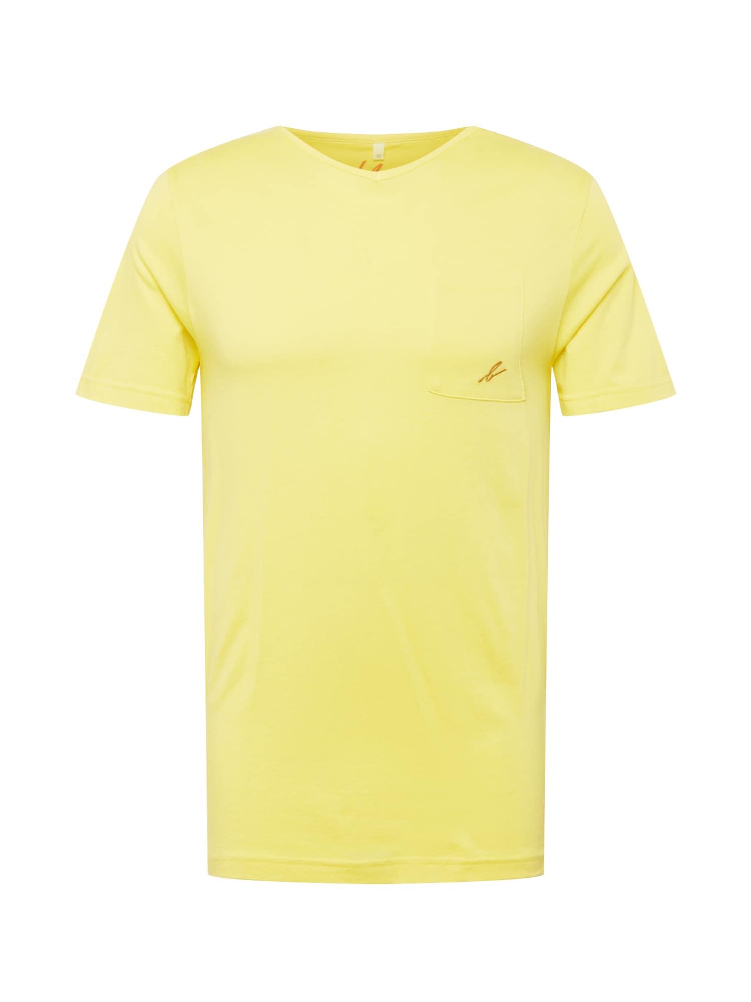 bleed clothing Marškinėliai šviesiai geltona